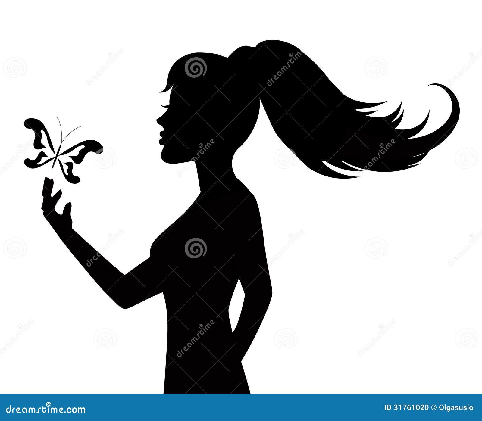 Девушка черно белое фото шаблон