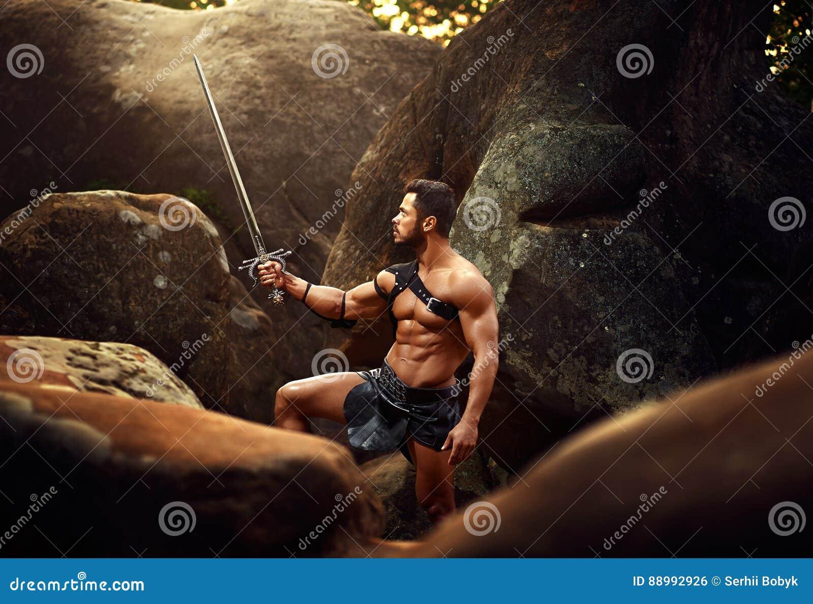Сильный ратник на древесинах