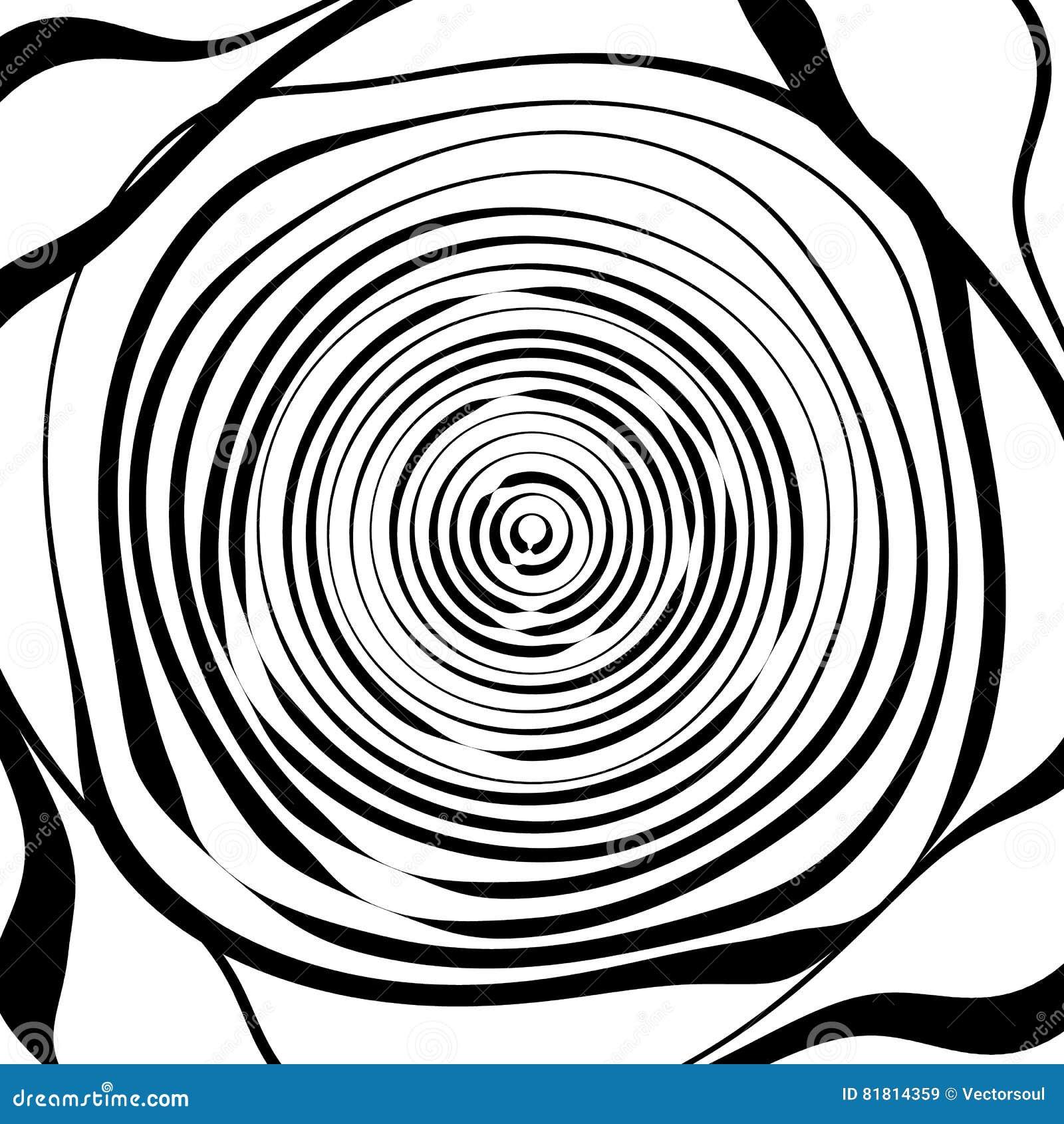 Скачками спиральная предпосылка в квадратном формате абстрактное геометрическое