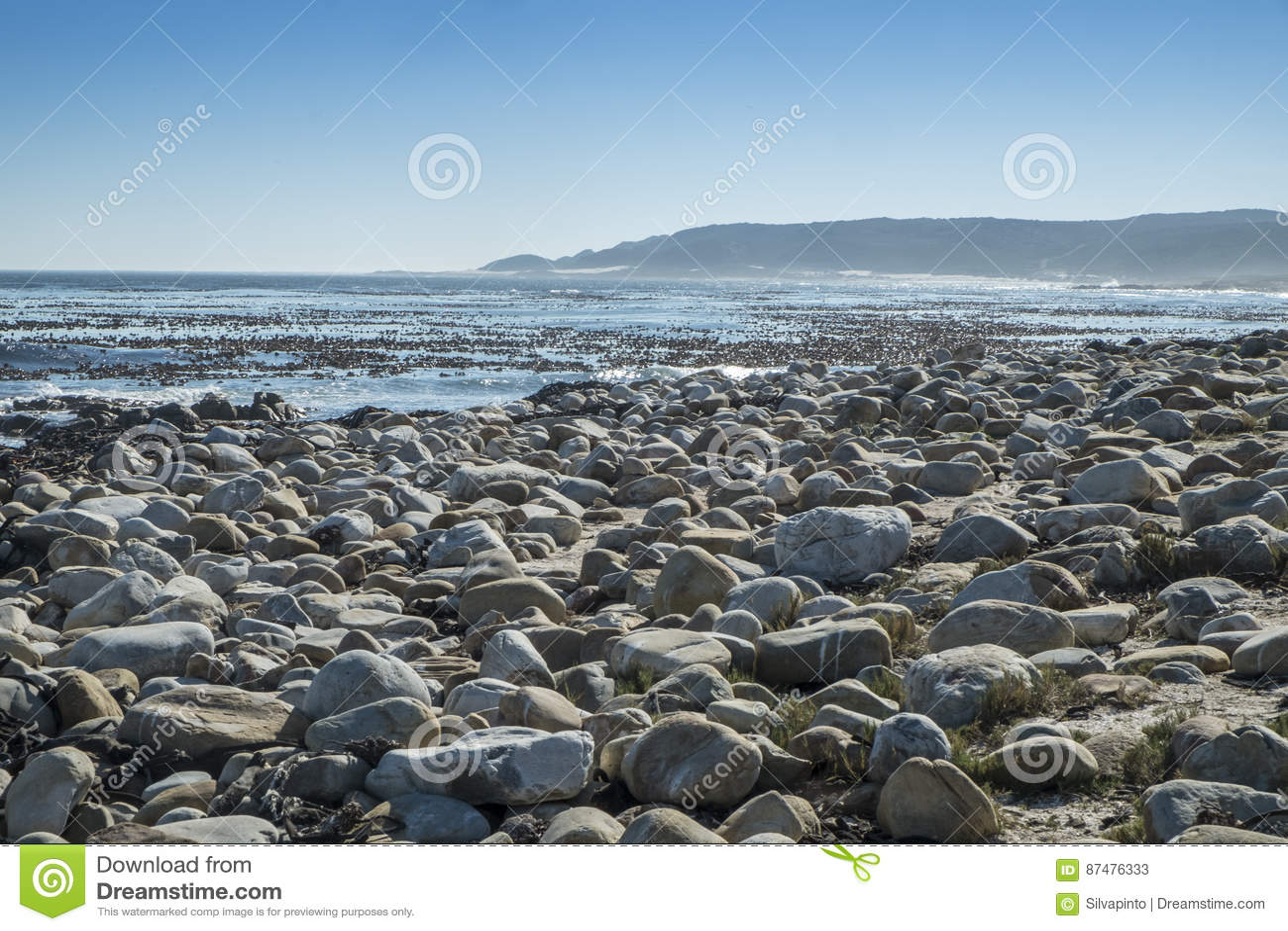 Скалистый пляж на накидке хорошей надежды