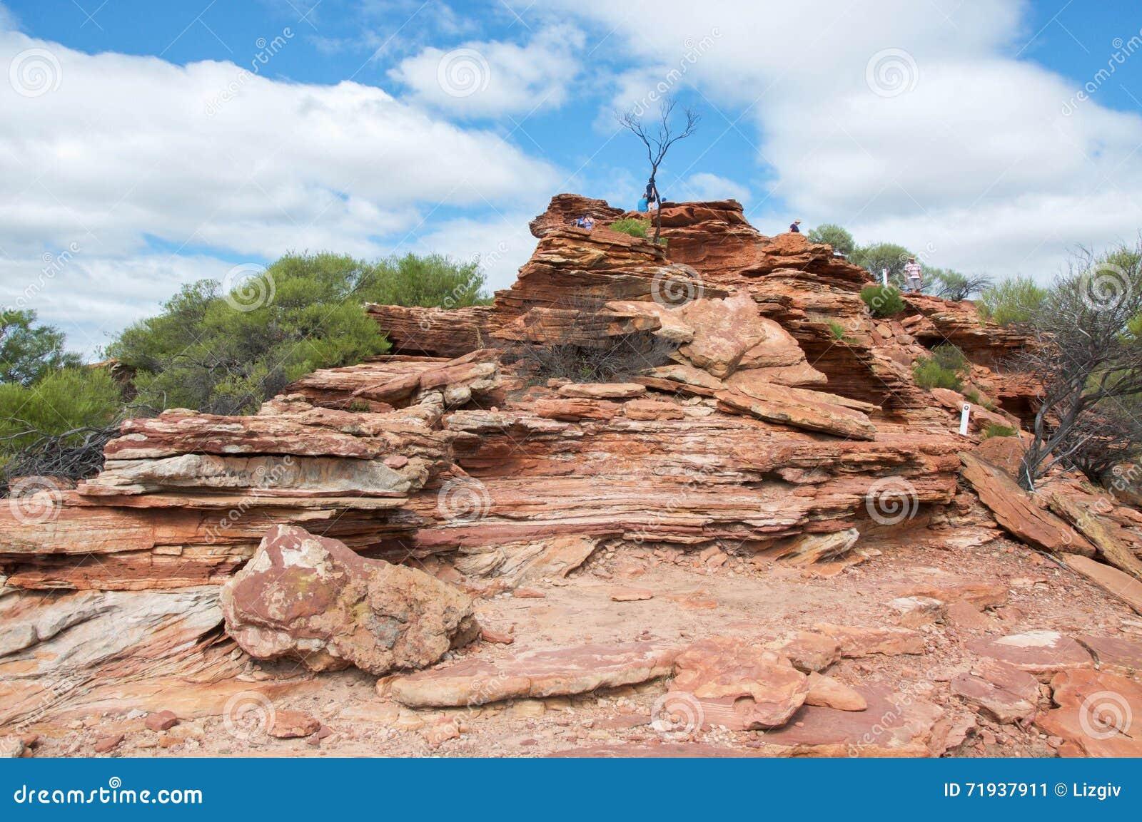 Скалы Kalbarri