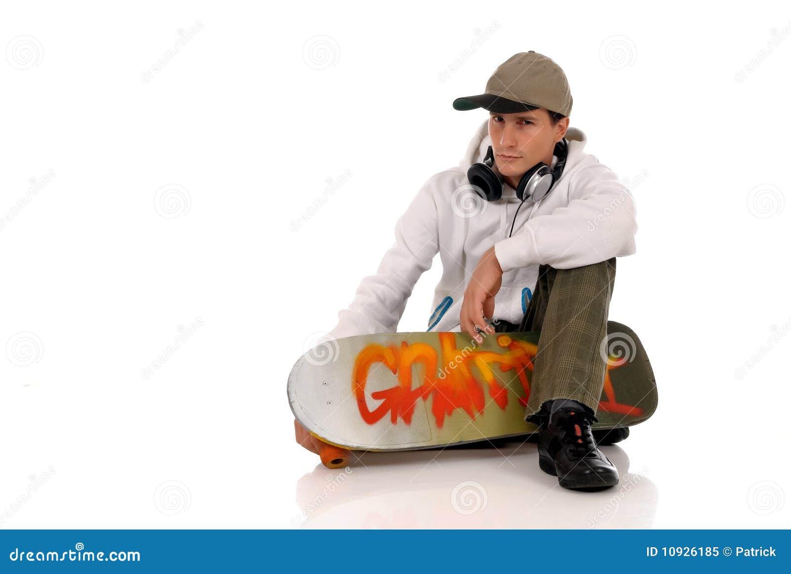 скейтборд шлемофона предназначенный для подростков