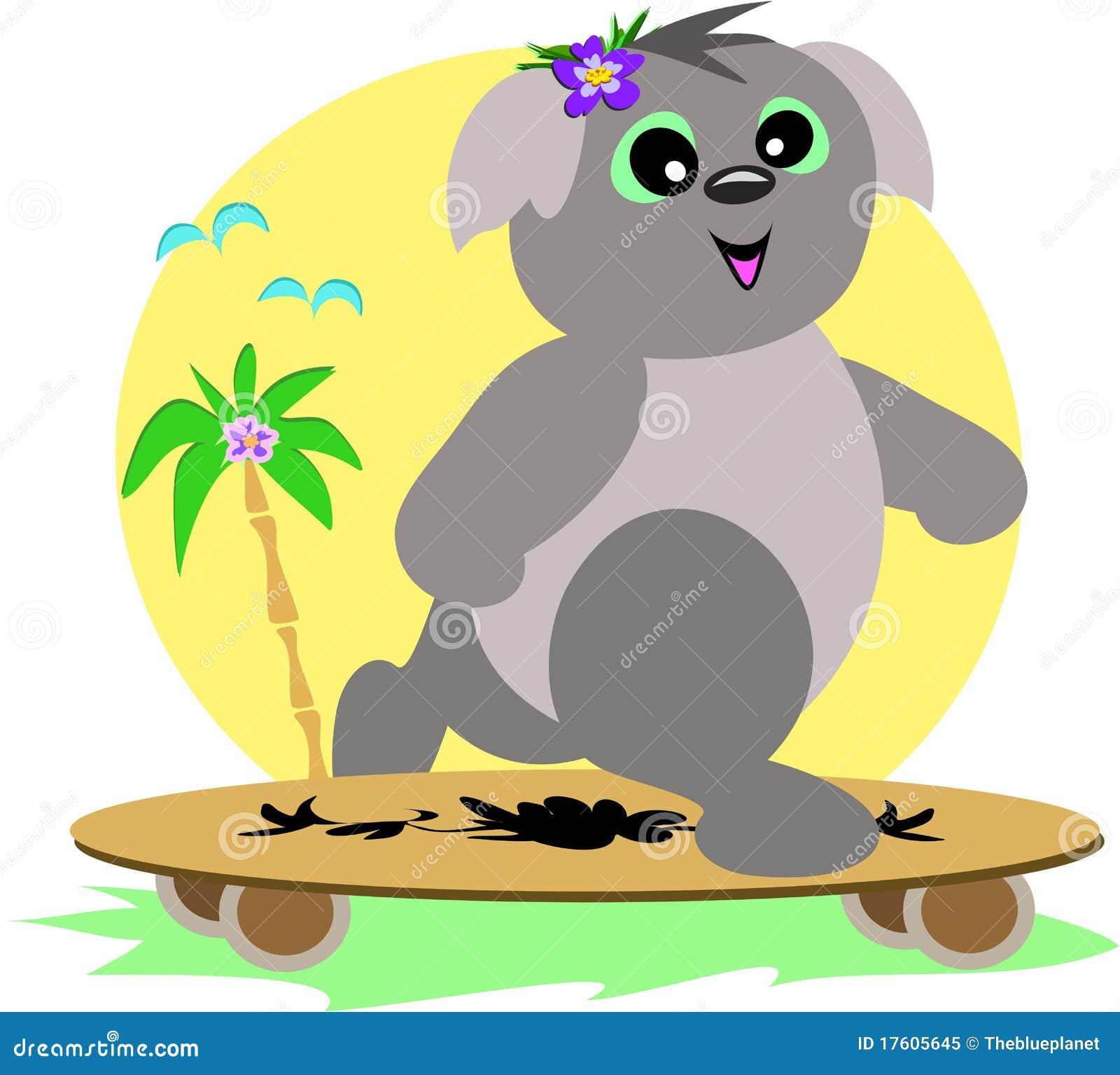 скейтборд koala