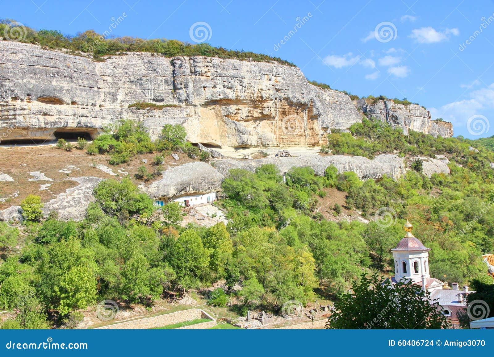 скит Крыма bakhchisarai около uspenskiy
