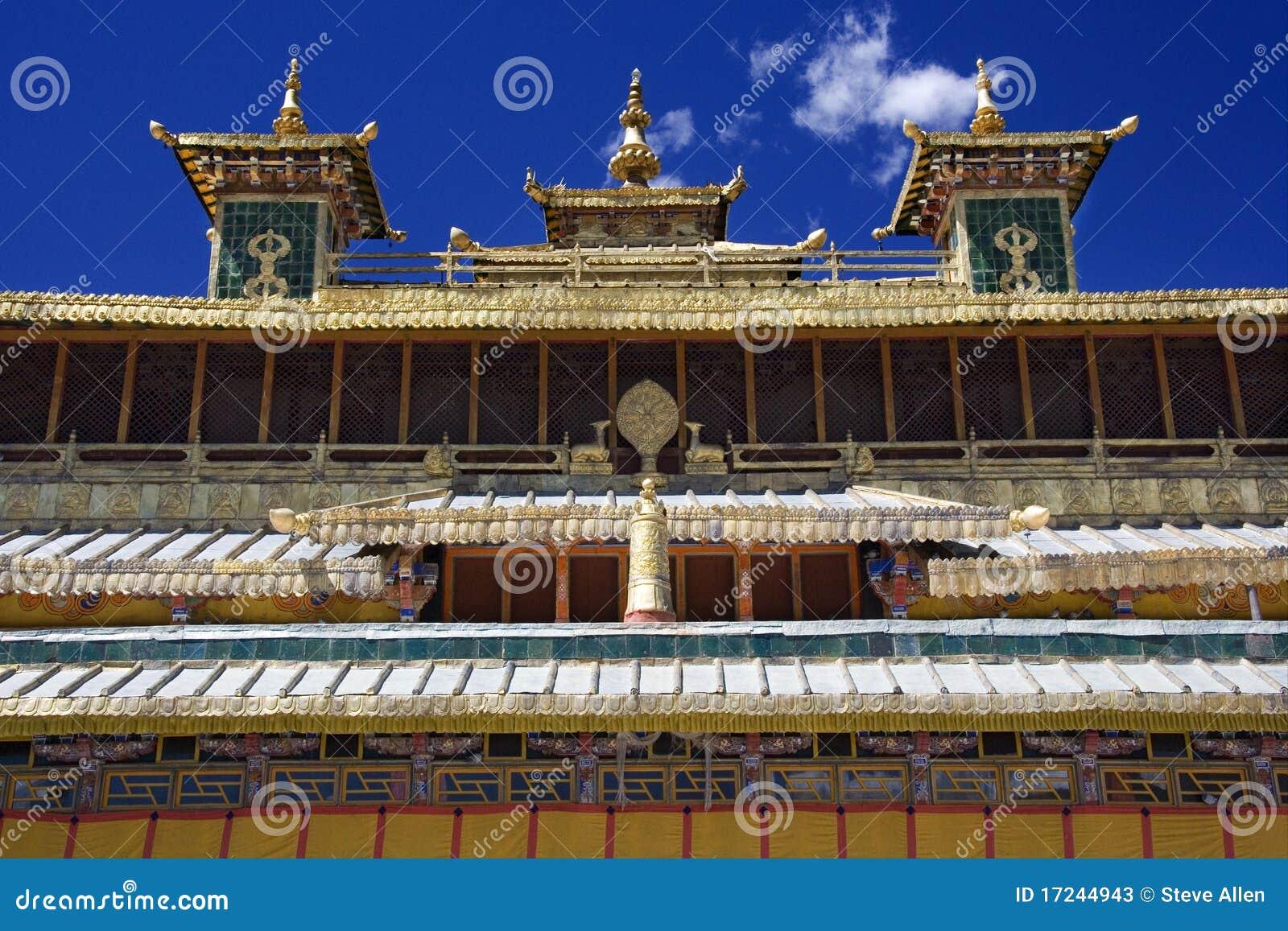Скит сывороток в Тибете