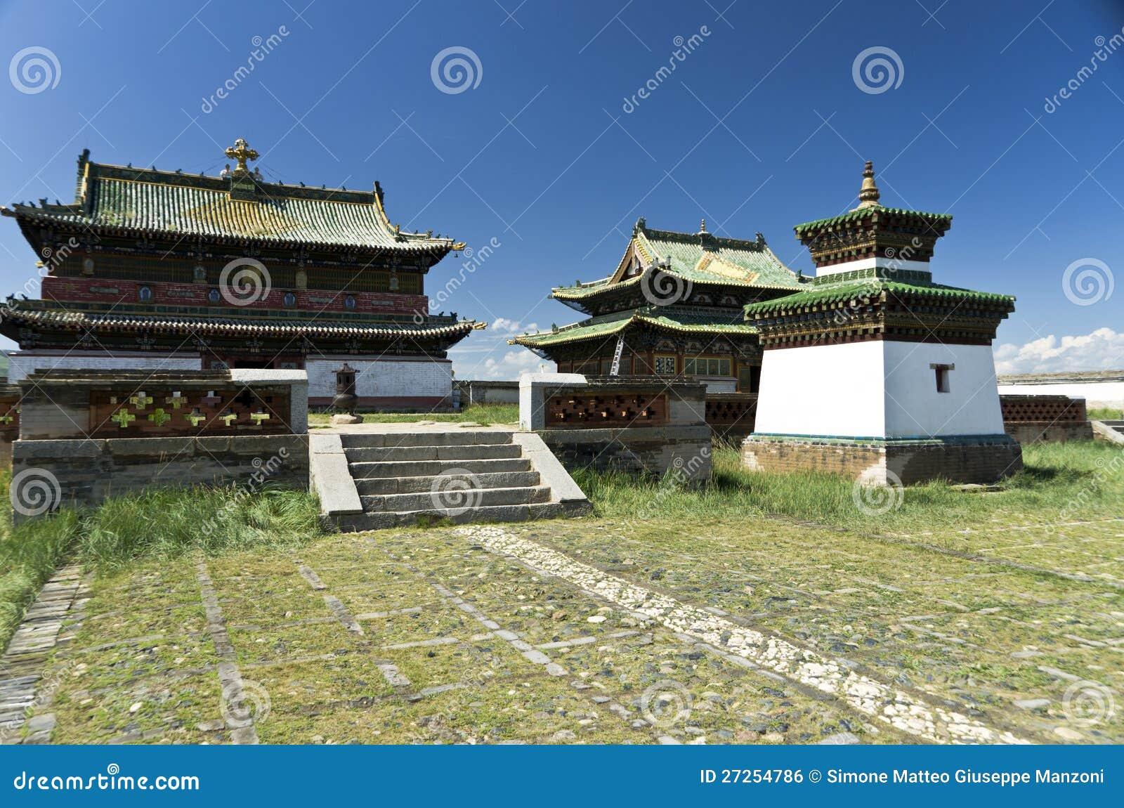 Скит Erdene Zuu, Kharkhorin, Монголия