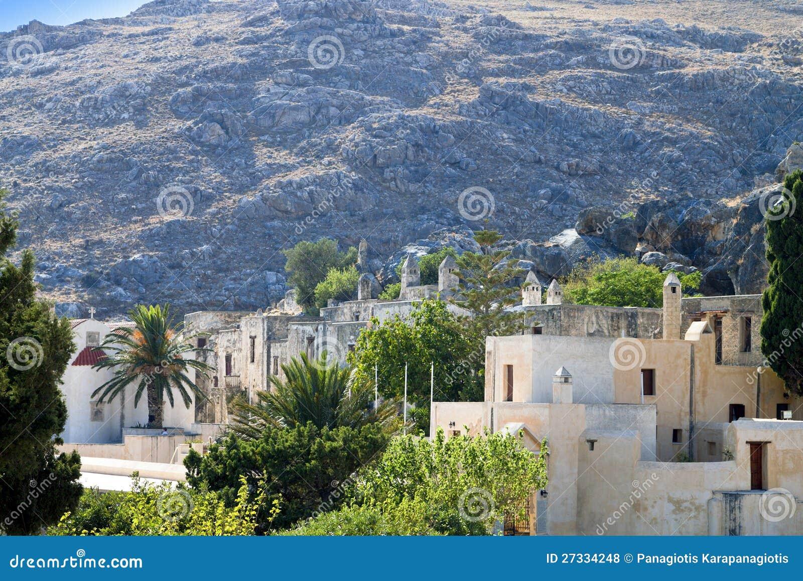 Скит Preveli на острове Крита