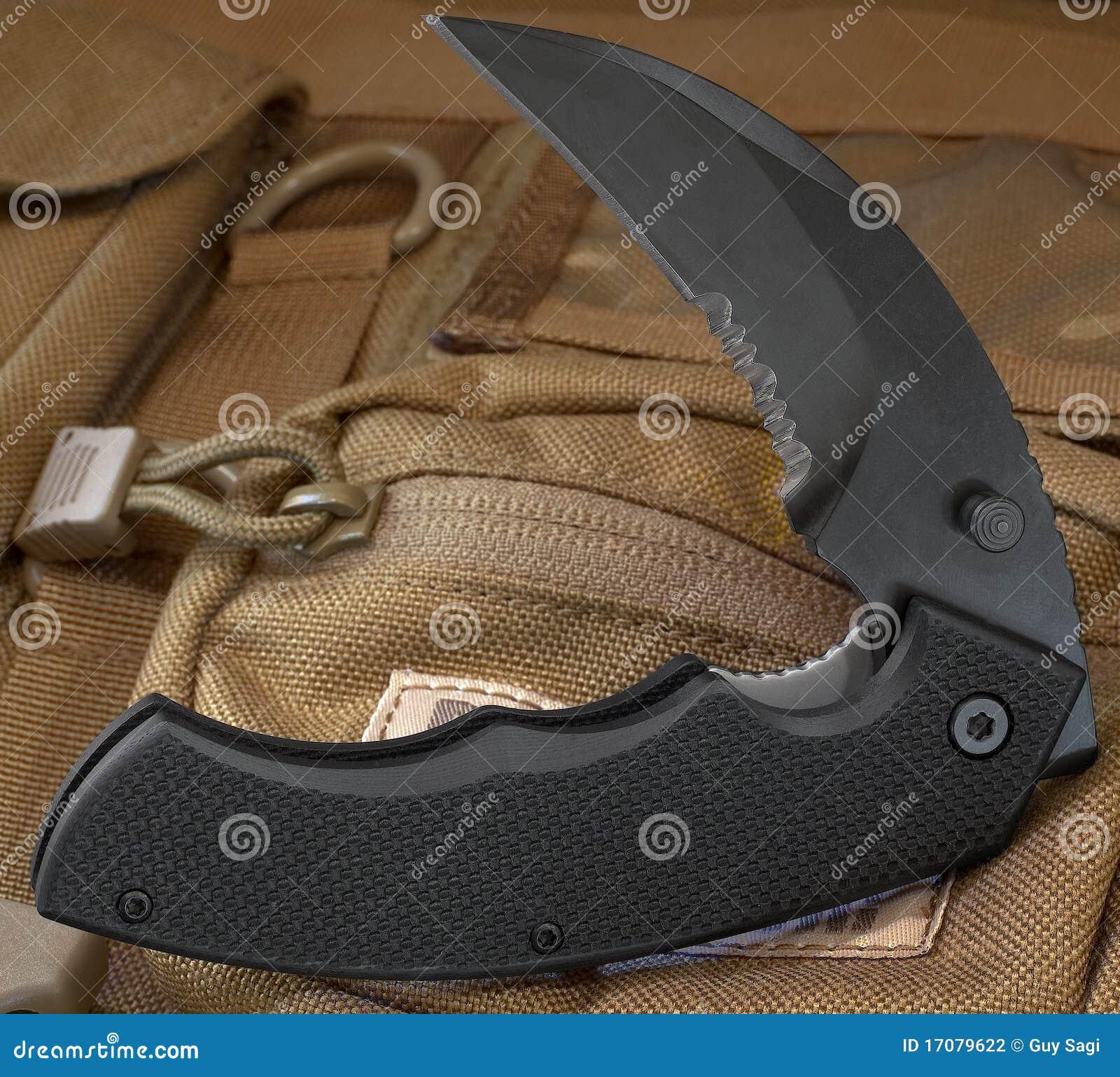 складывая нож