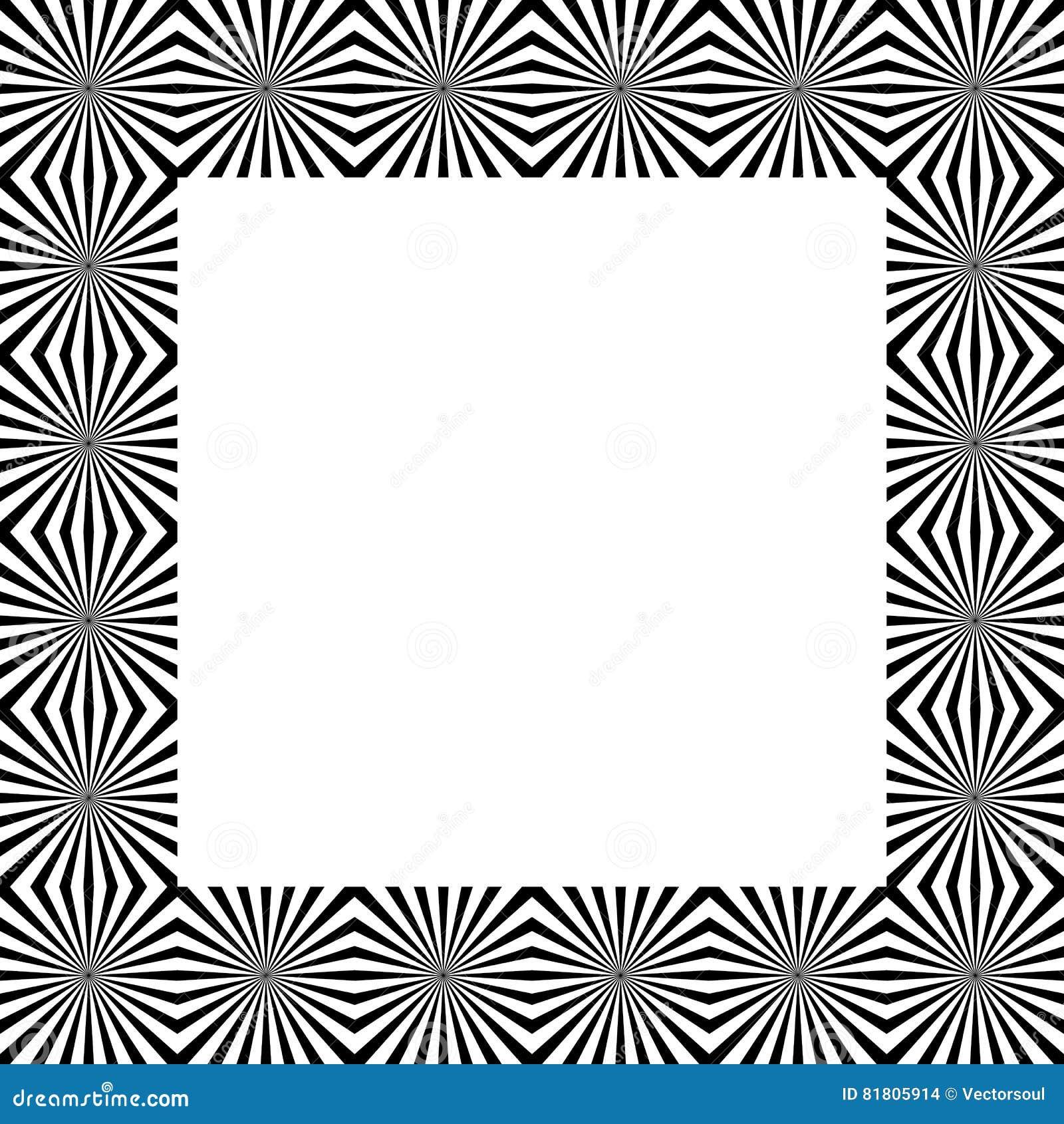 Скороговорка с мозаикой излучать линии Monochrome предпосылка