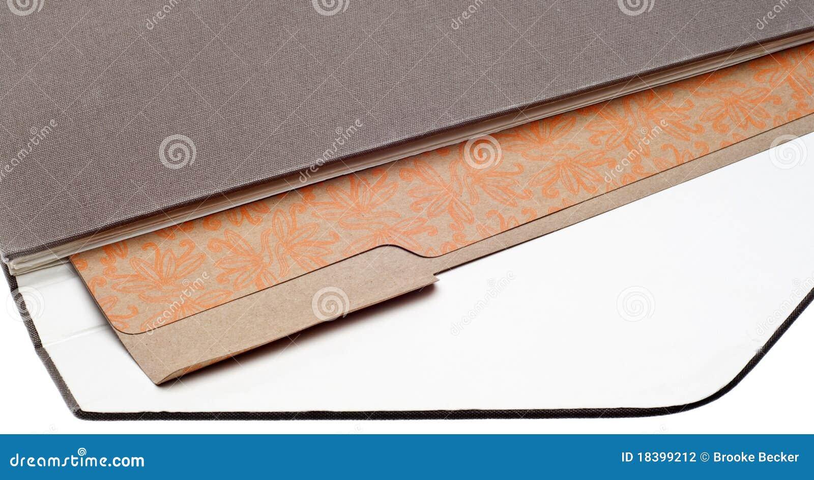 скоросшиватель архива связывателя коричневый