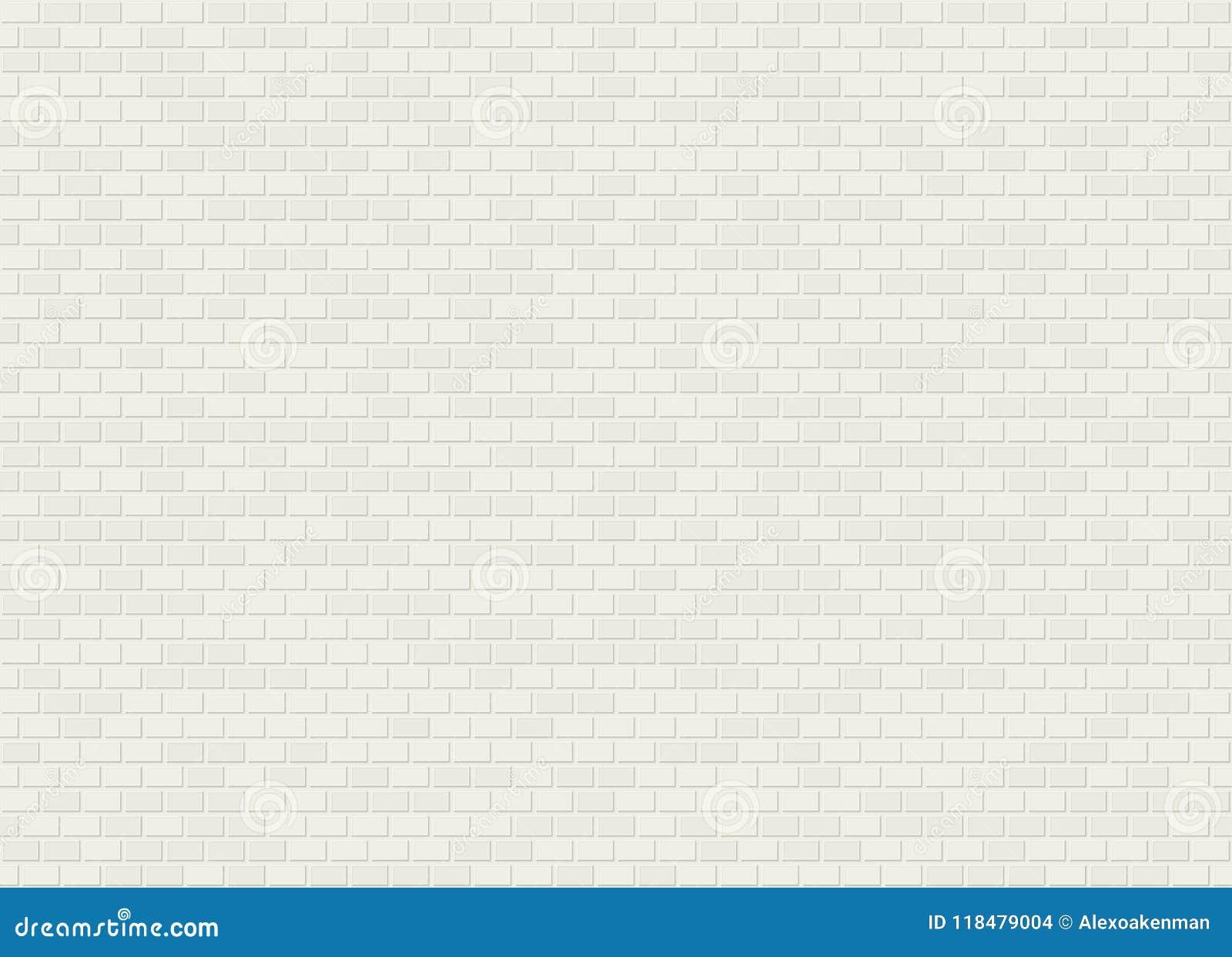 Скрепления заголовка вектора текстура кирпичной стены безшовного белая