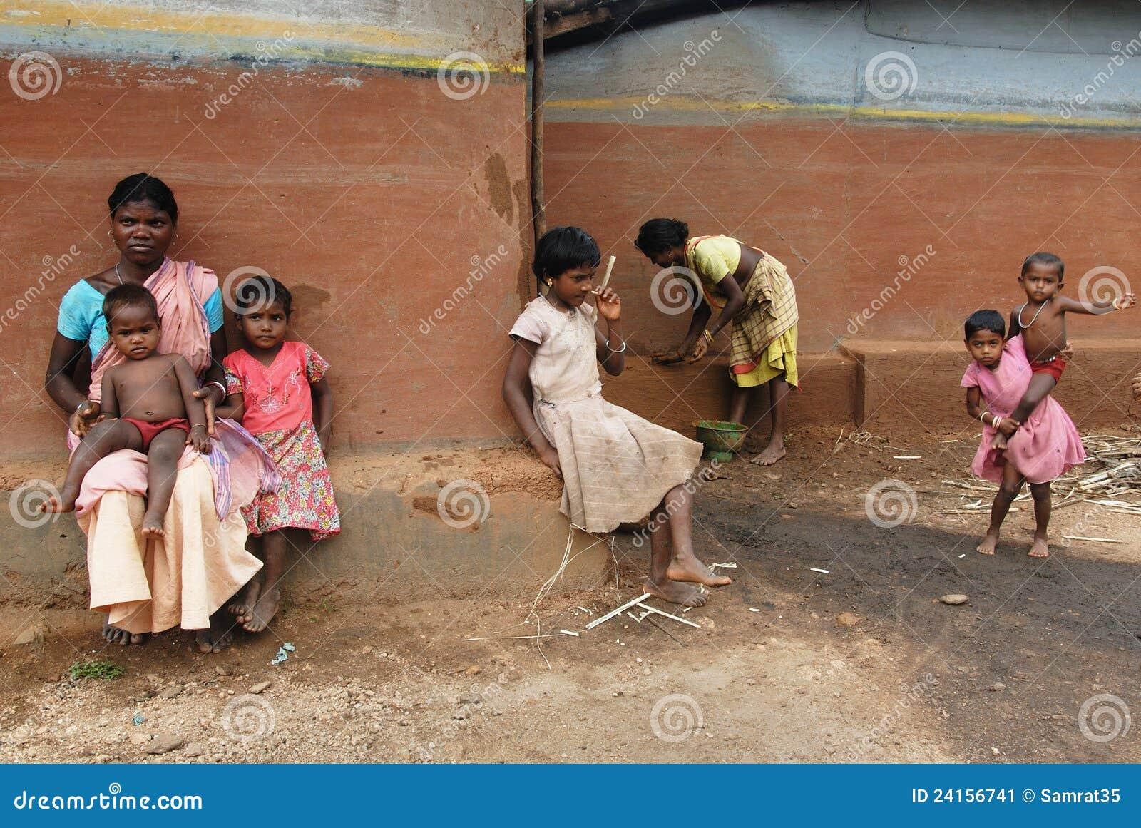 скудость Индии сельская