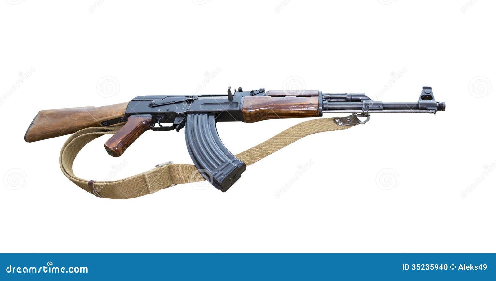 Складчатость штурмовой винтовки автомата Калашниковаа