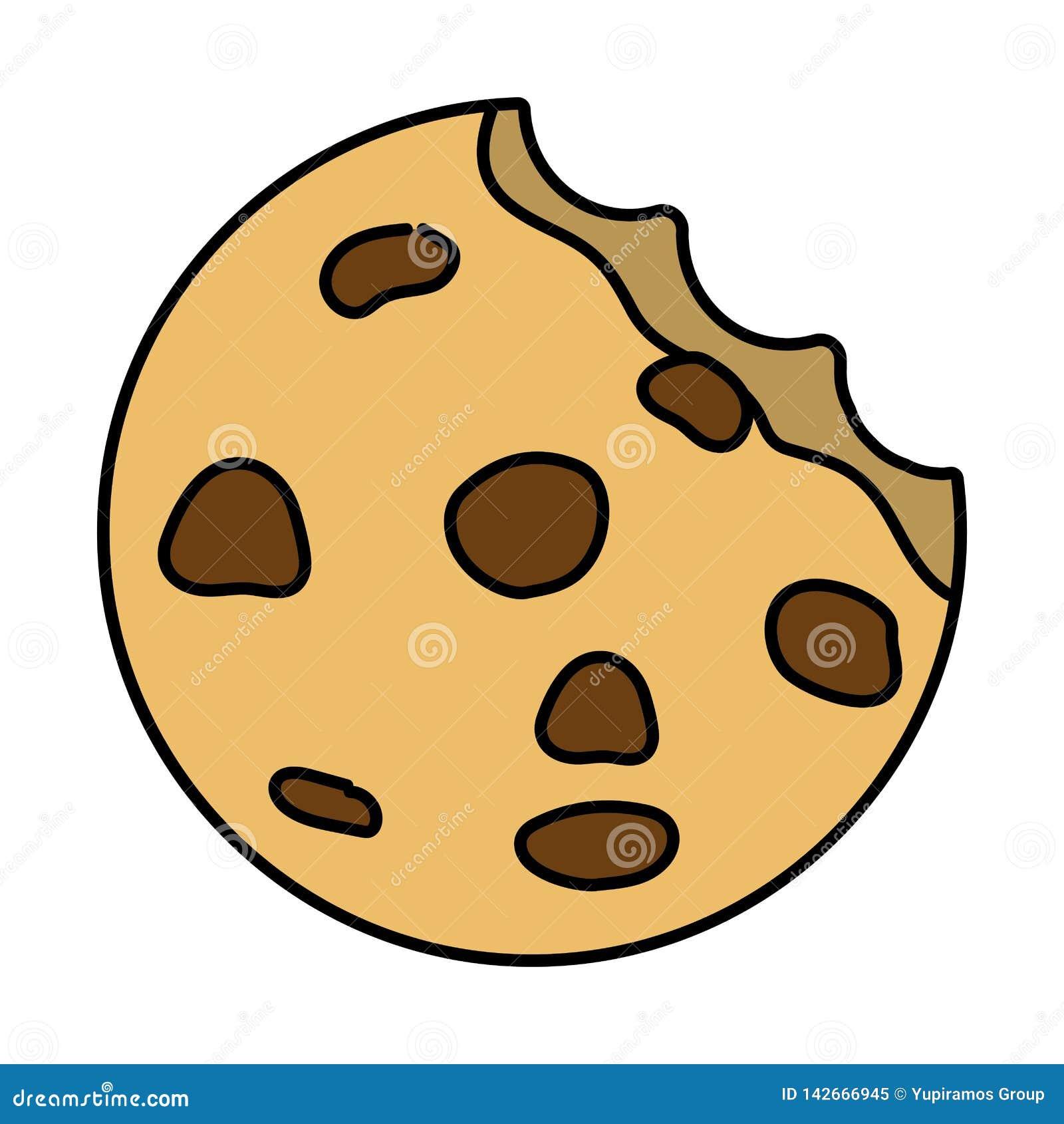 Сладкий мультфильм печенья