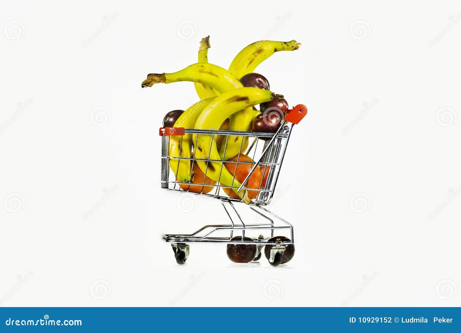 сливы экипажа бананов