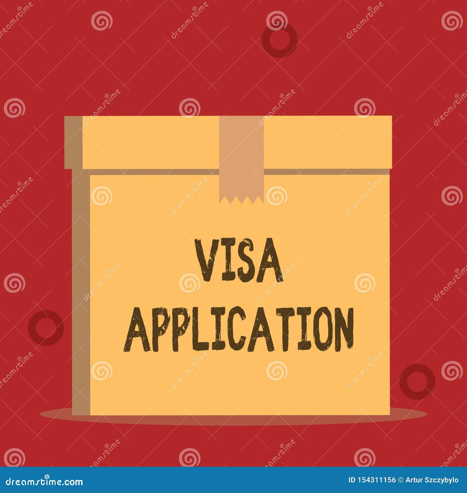 Слово писать заявление на выдачу визы текста Концепция дела для формы для того чтобы спросить перемещение разрешения или прожить