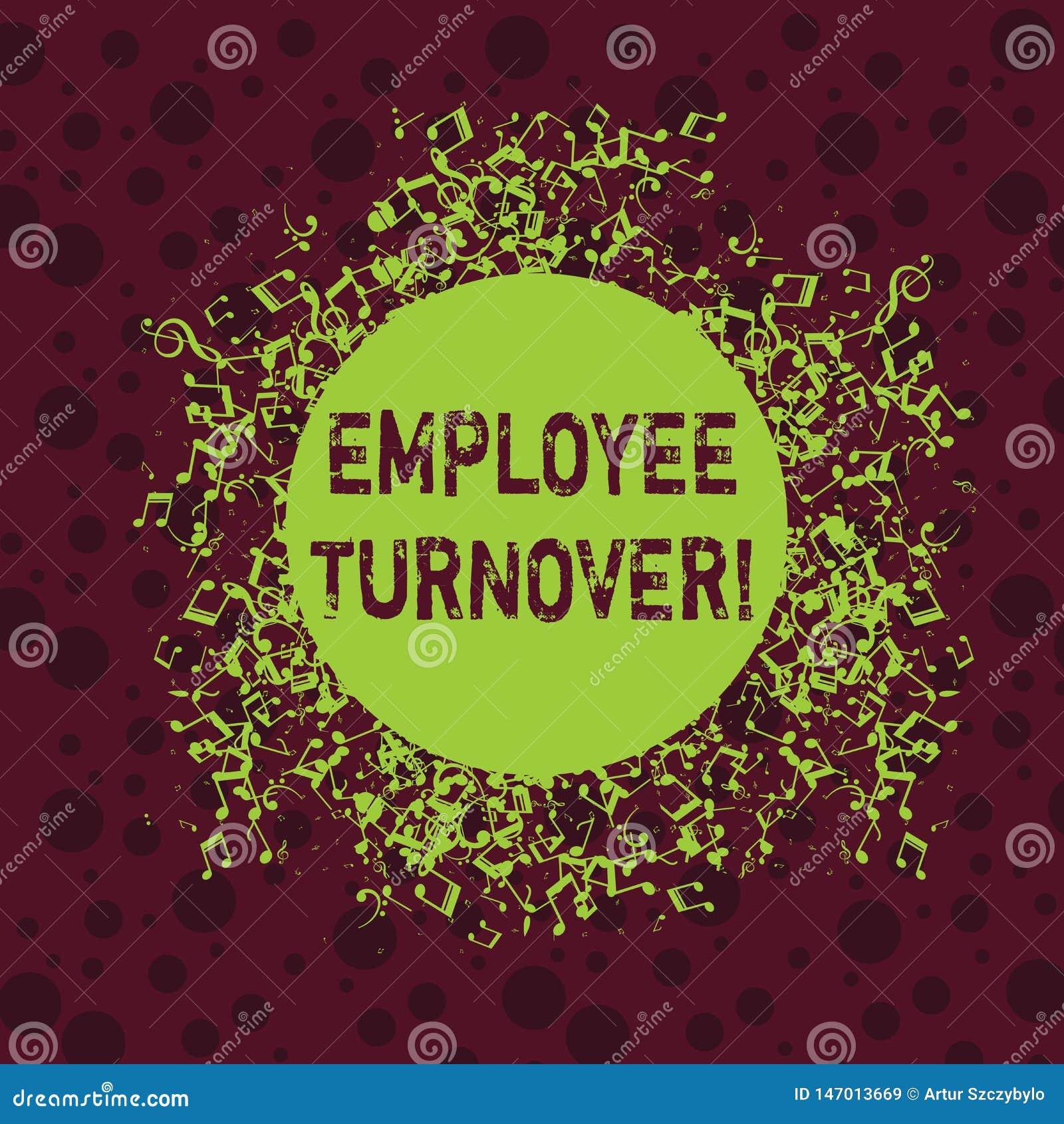 Слово писать оборачиваемость работника текста Концепция дела для процента работников которые выходят организация Disarrayed