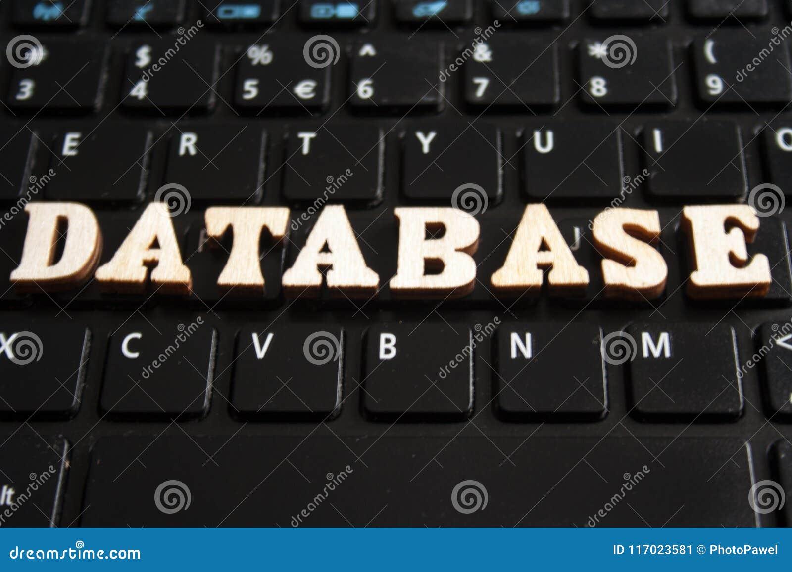 Слово DATABASE