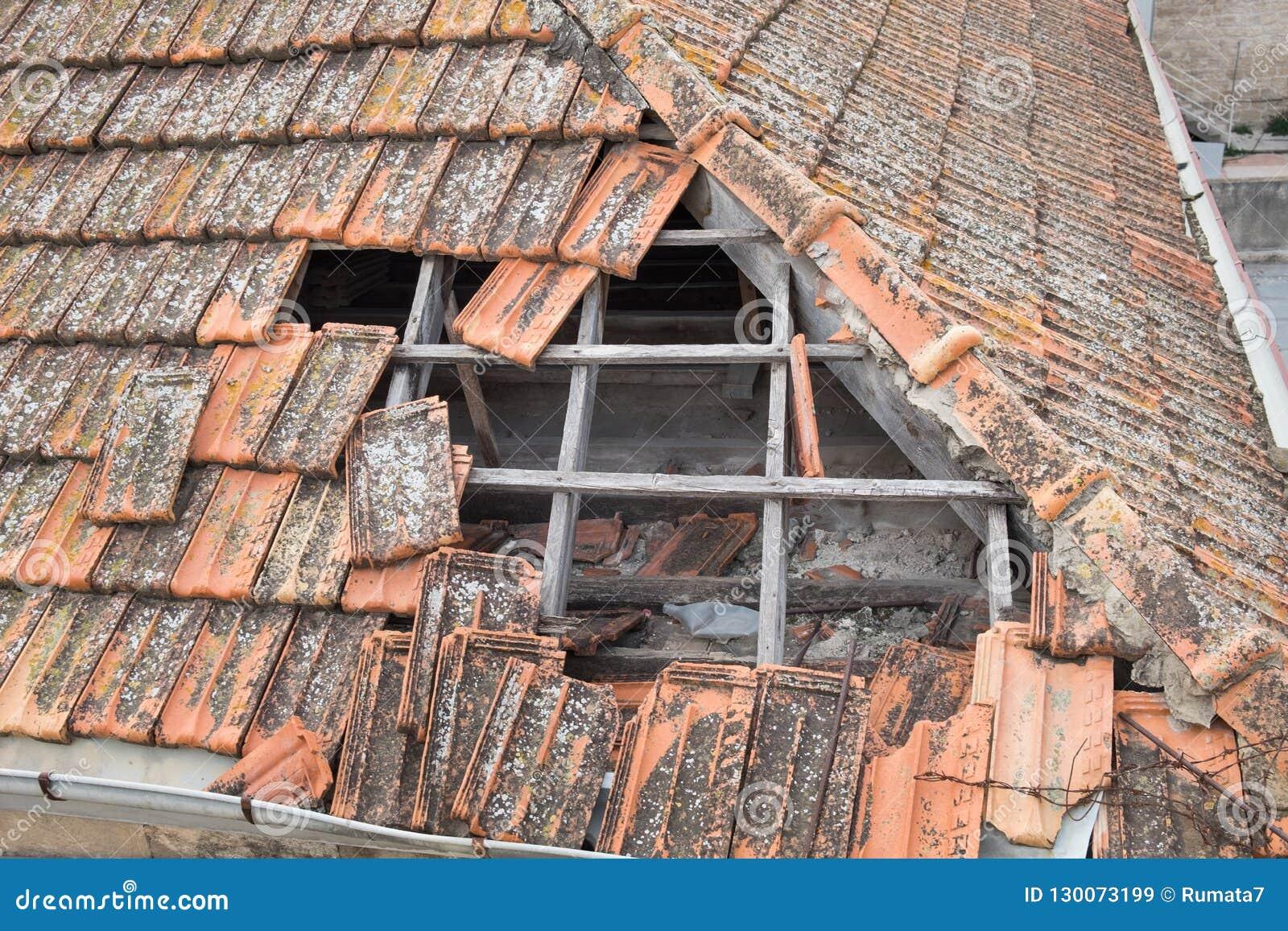 Сломленная крыша гонт
