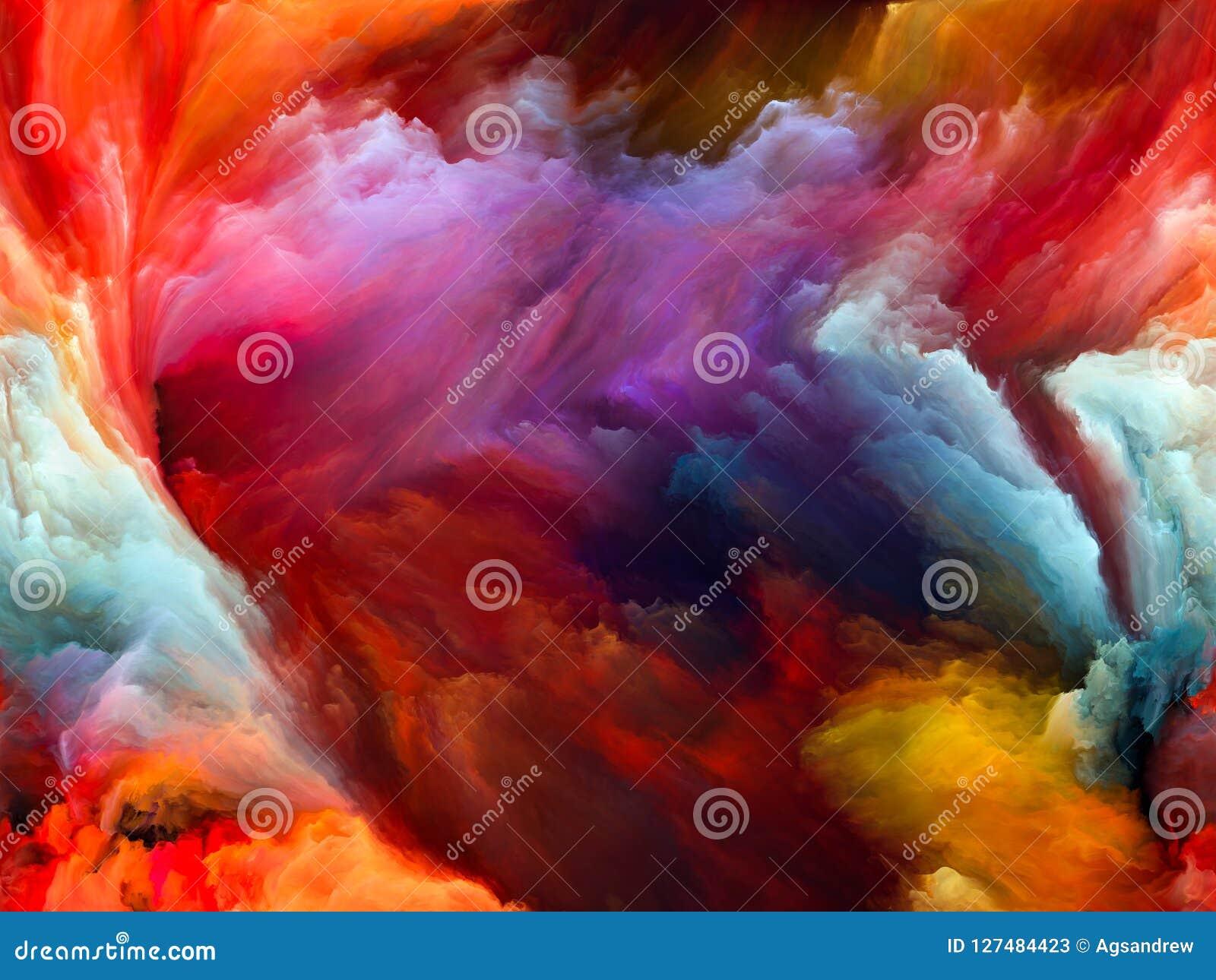 Случайное движение цвета