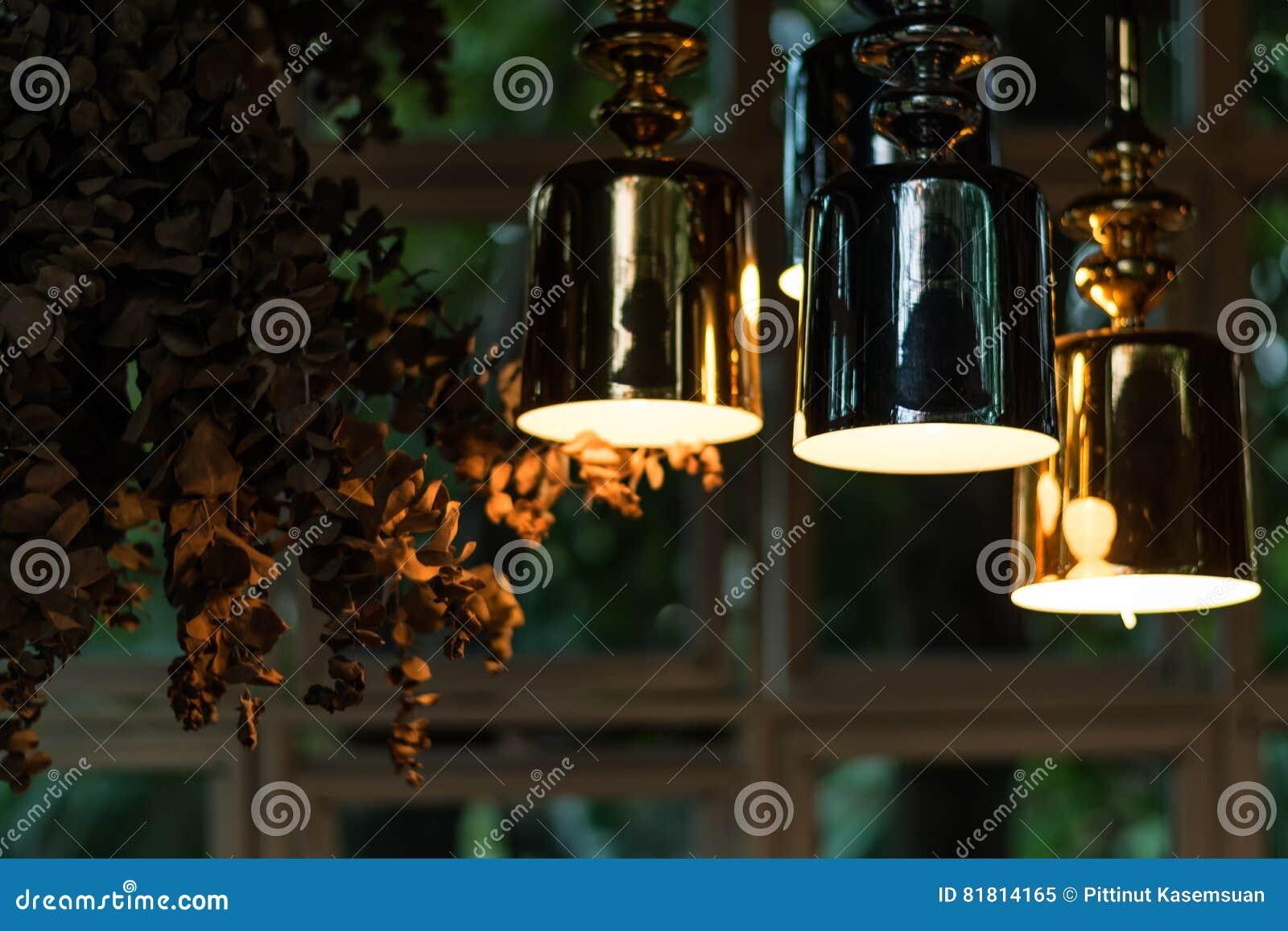Смертная казнь через повешение красивой электрической лампочки раскаленная добела украсила внутреннее roo