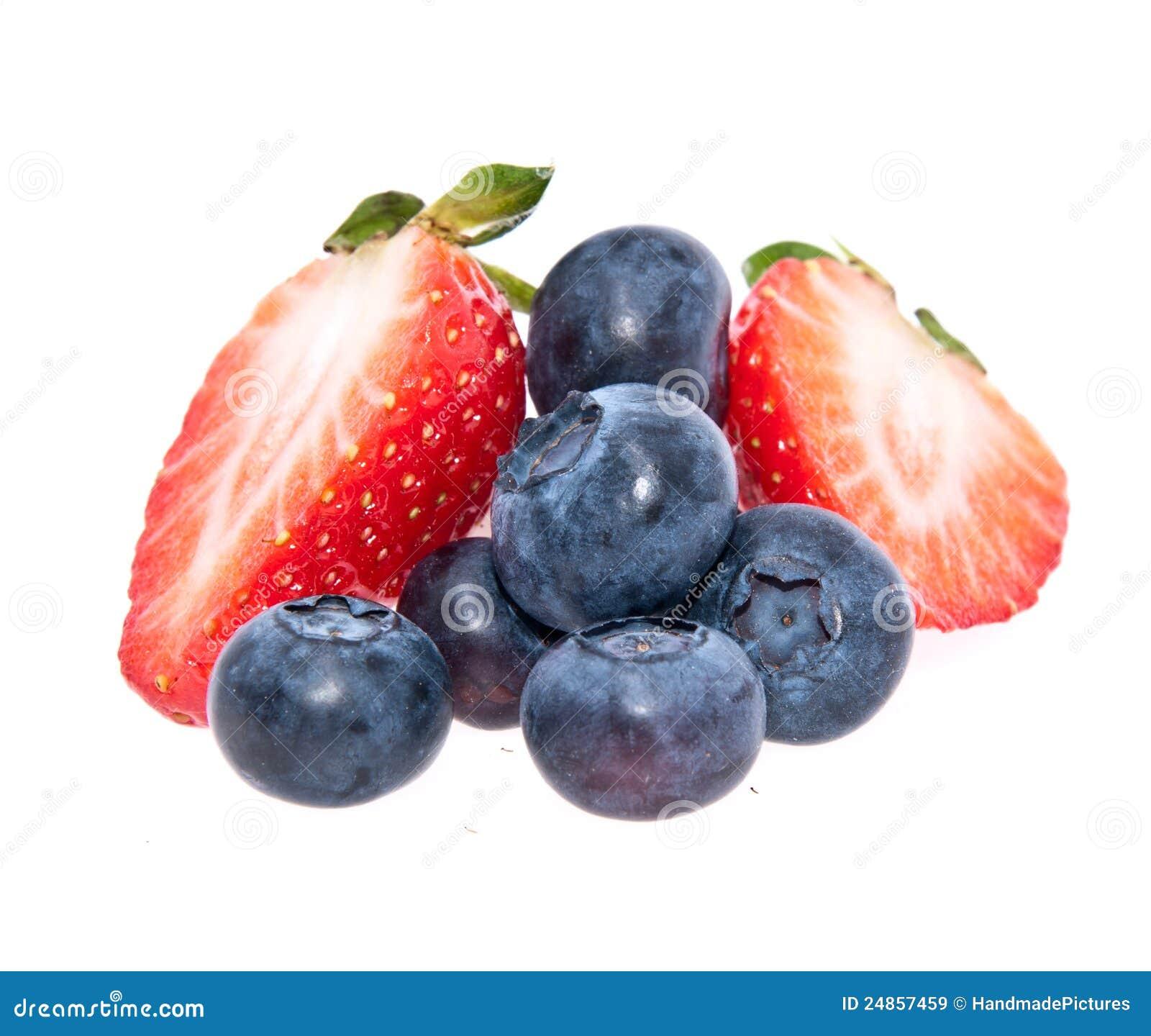 смешанный ворох ягод