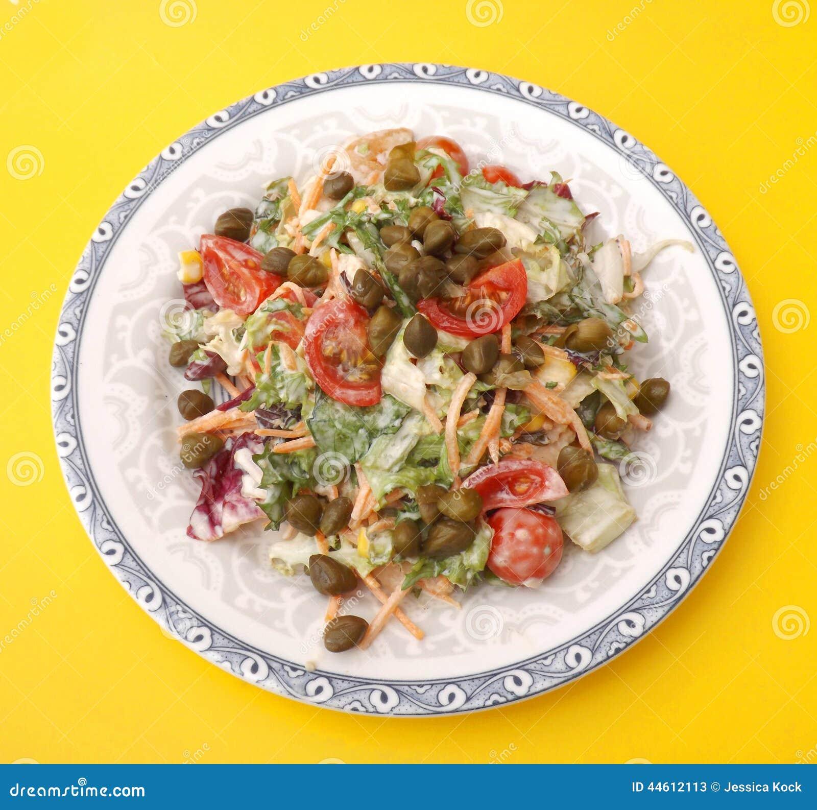 салат с каперсами