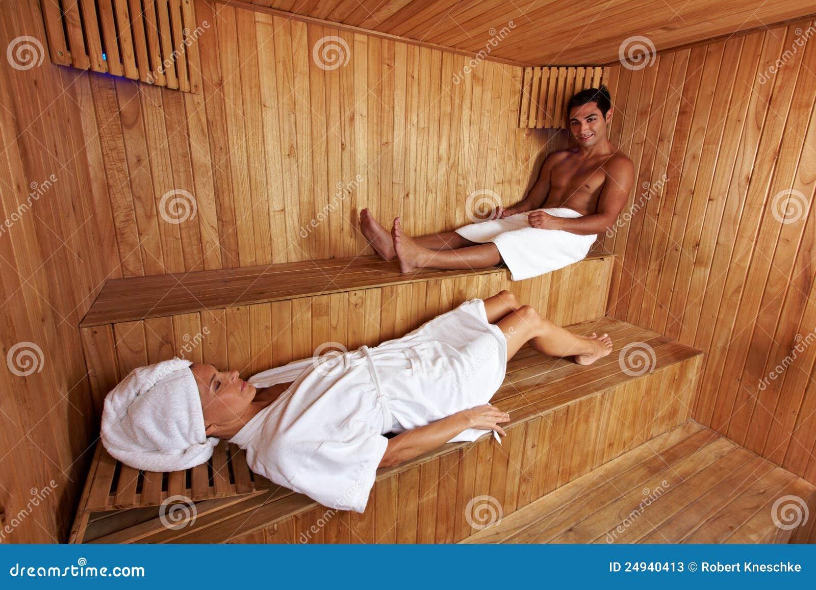 смешанный sauna