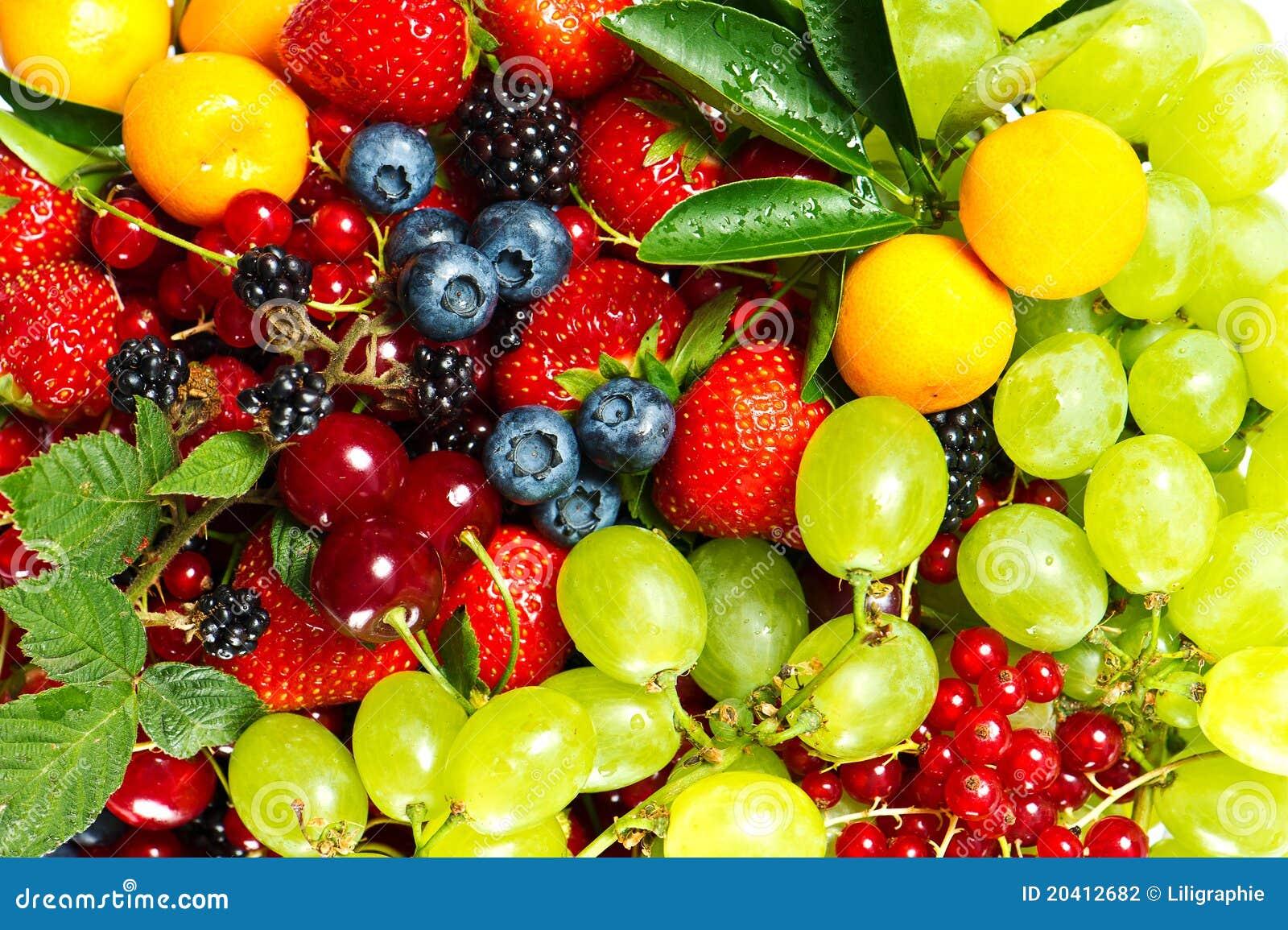 смешивание плодоовощей ягод