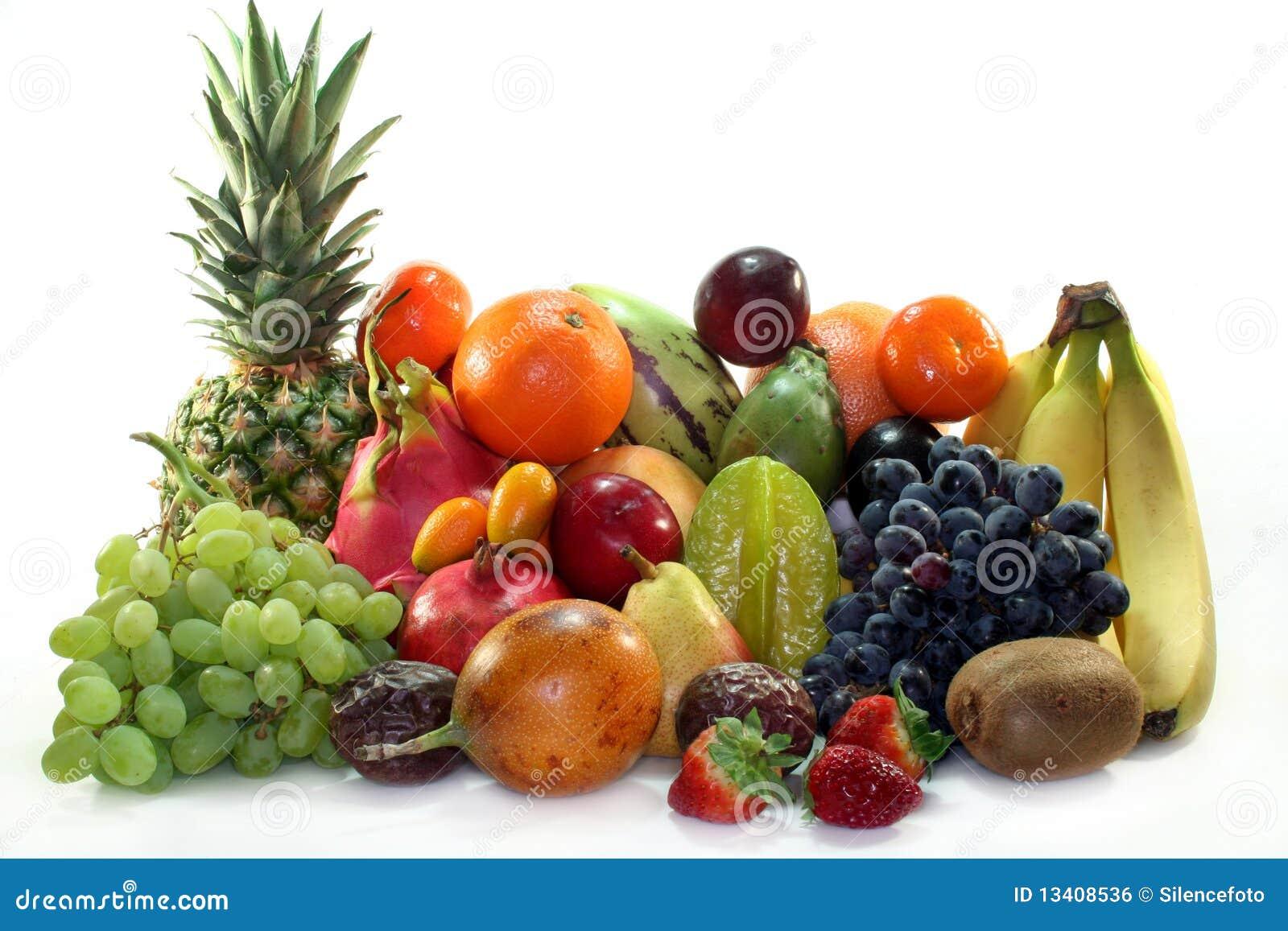 смешивание плодоовощ