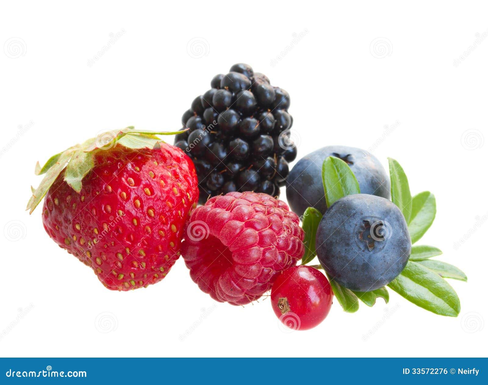 Смешивание свежих ягод