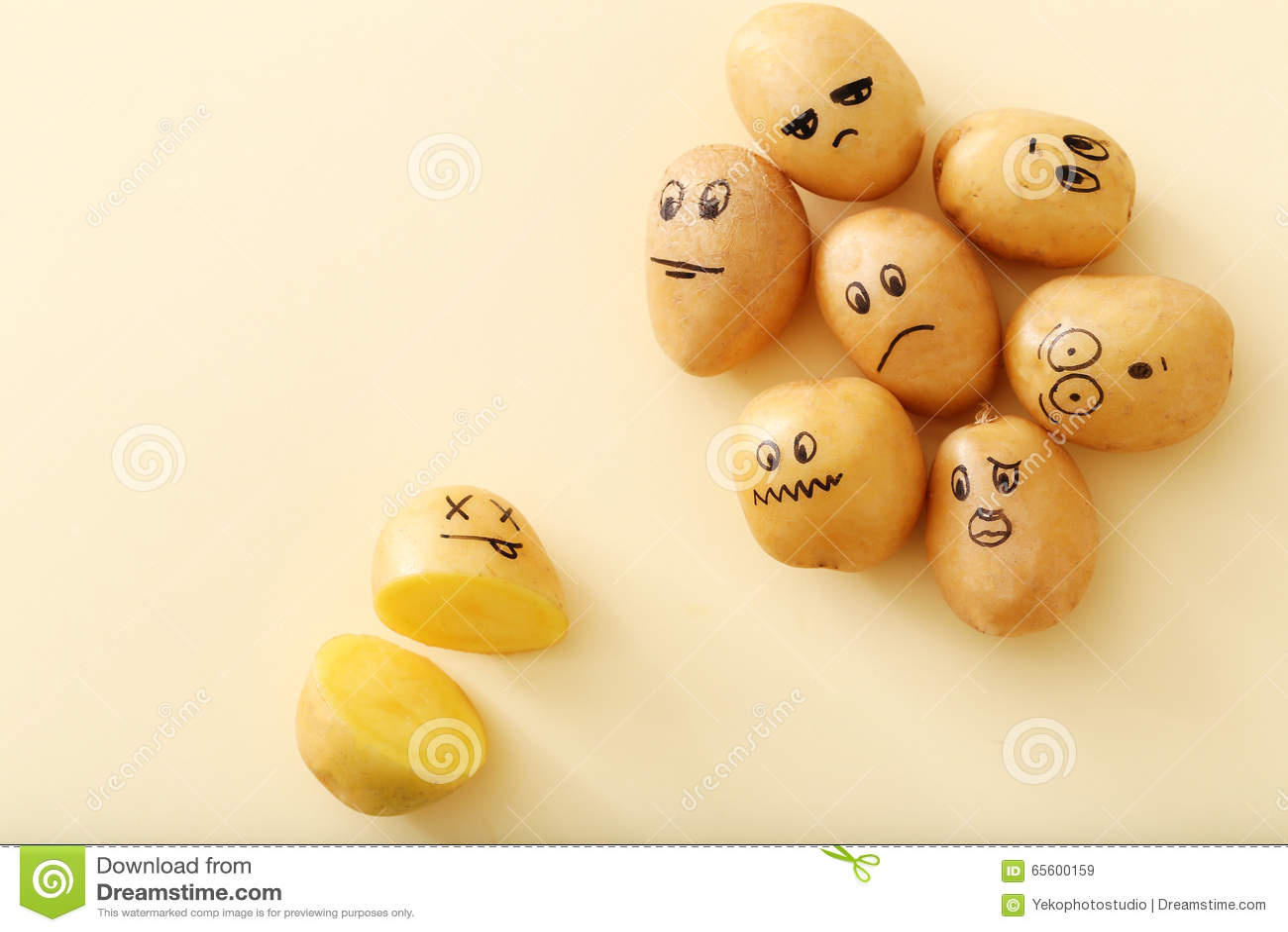 картинки картошка смешная
