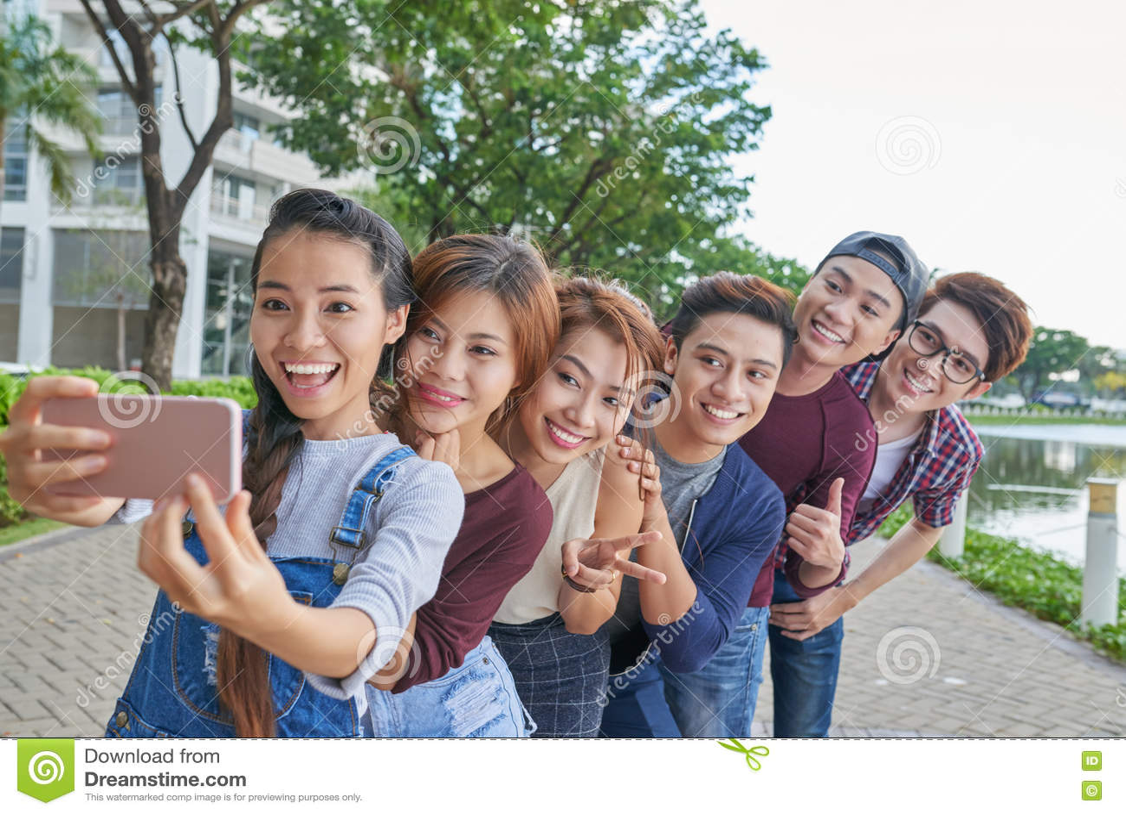 Смешное selfie