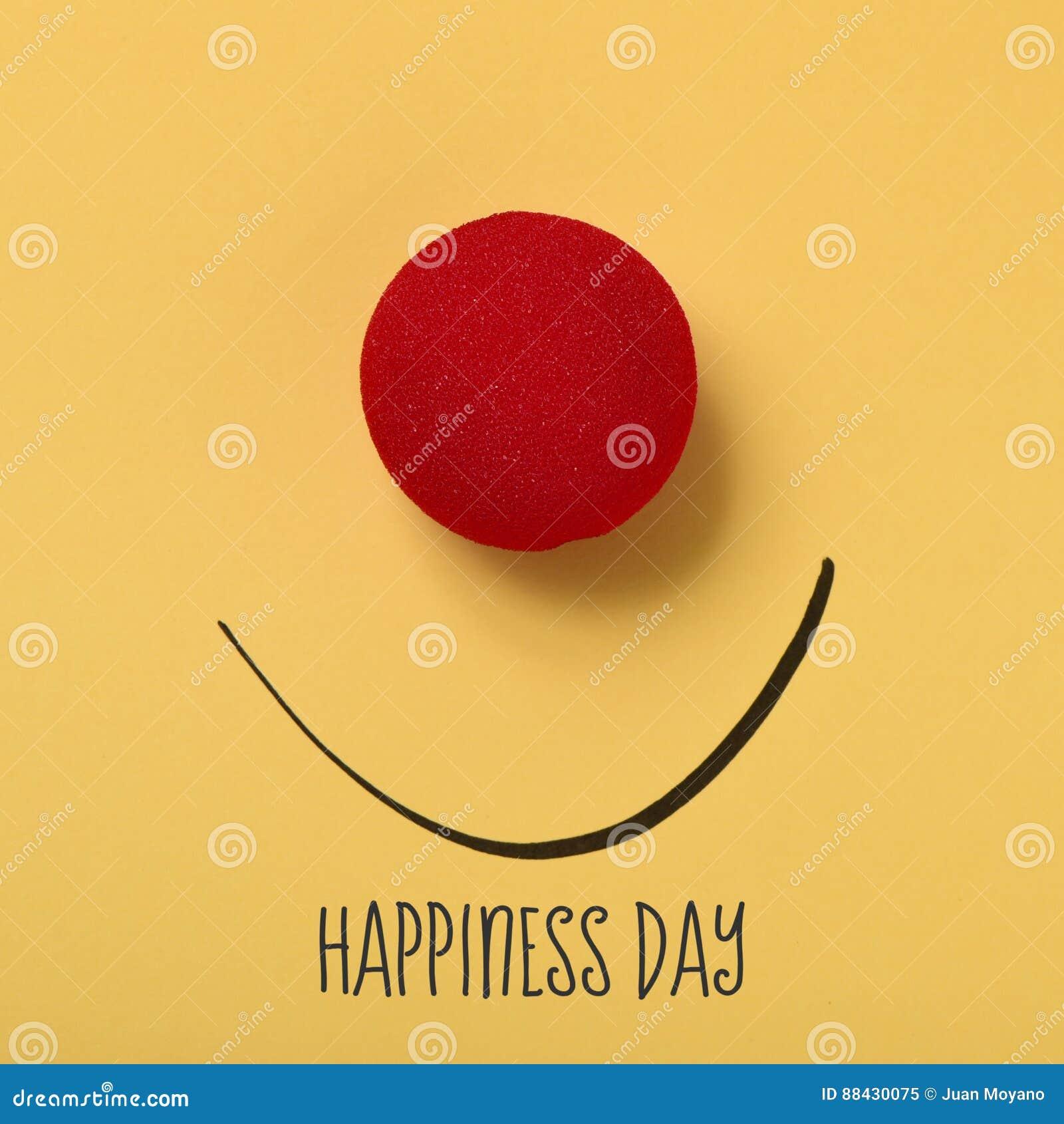 Смешной день счастья стороны и текста