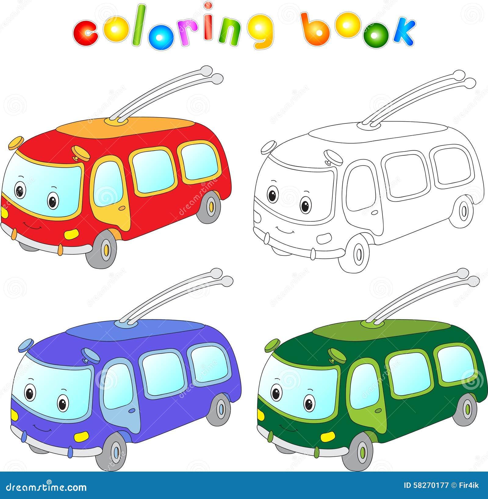 Картинка Для Детей Троллейбус