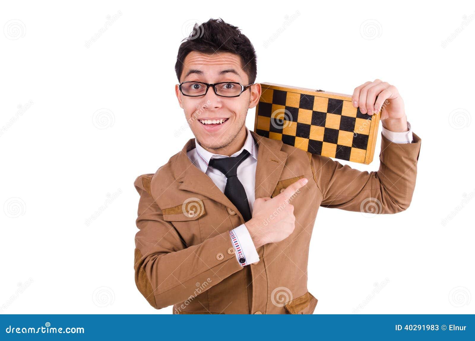 Смешной шахматист