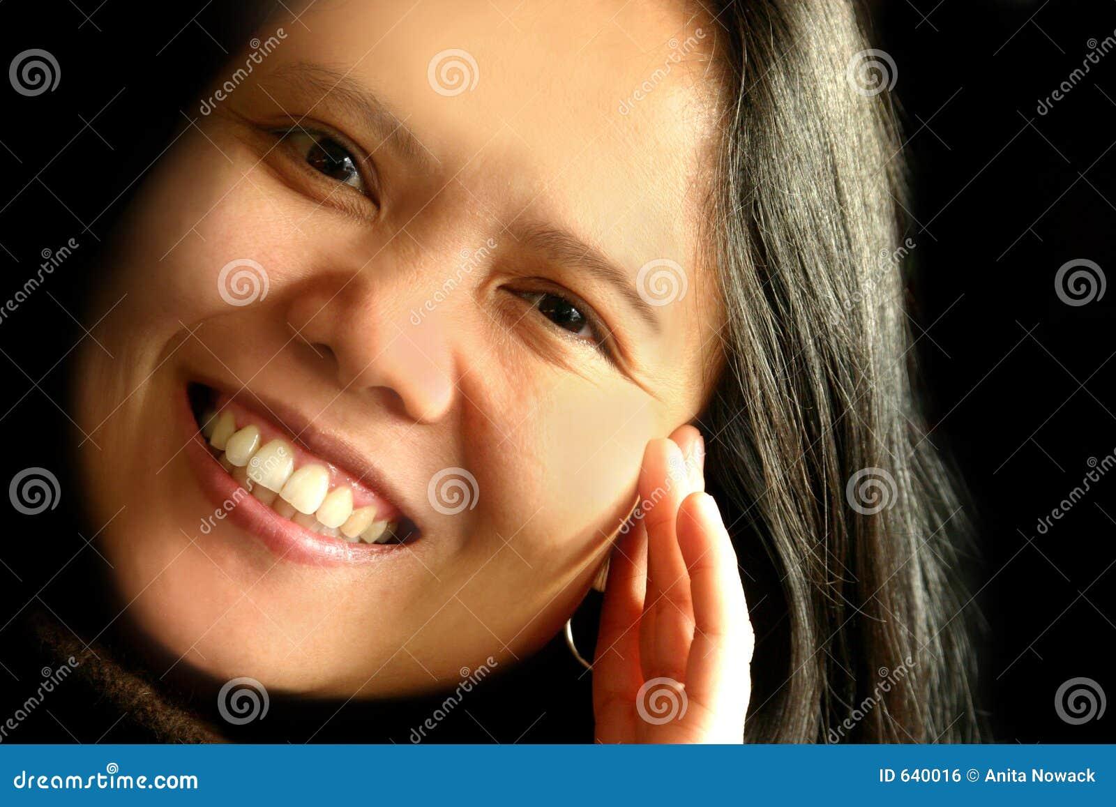 Download смеяться над красотки стоковое фото. изображение насчитывающей сливк - 640016