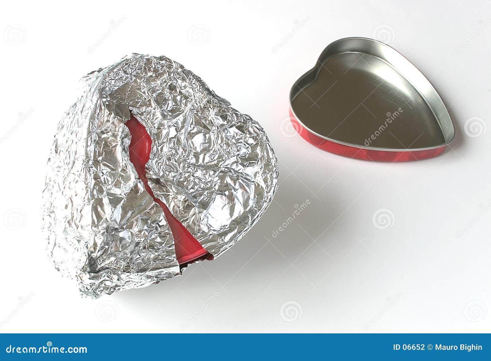 смогите foil олово сердца
