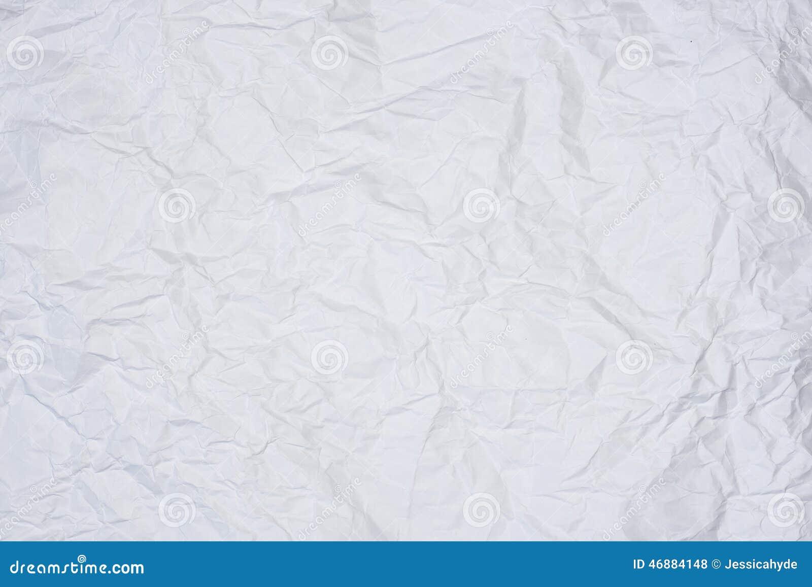 Сморщенный лист бумаги
