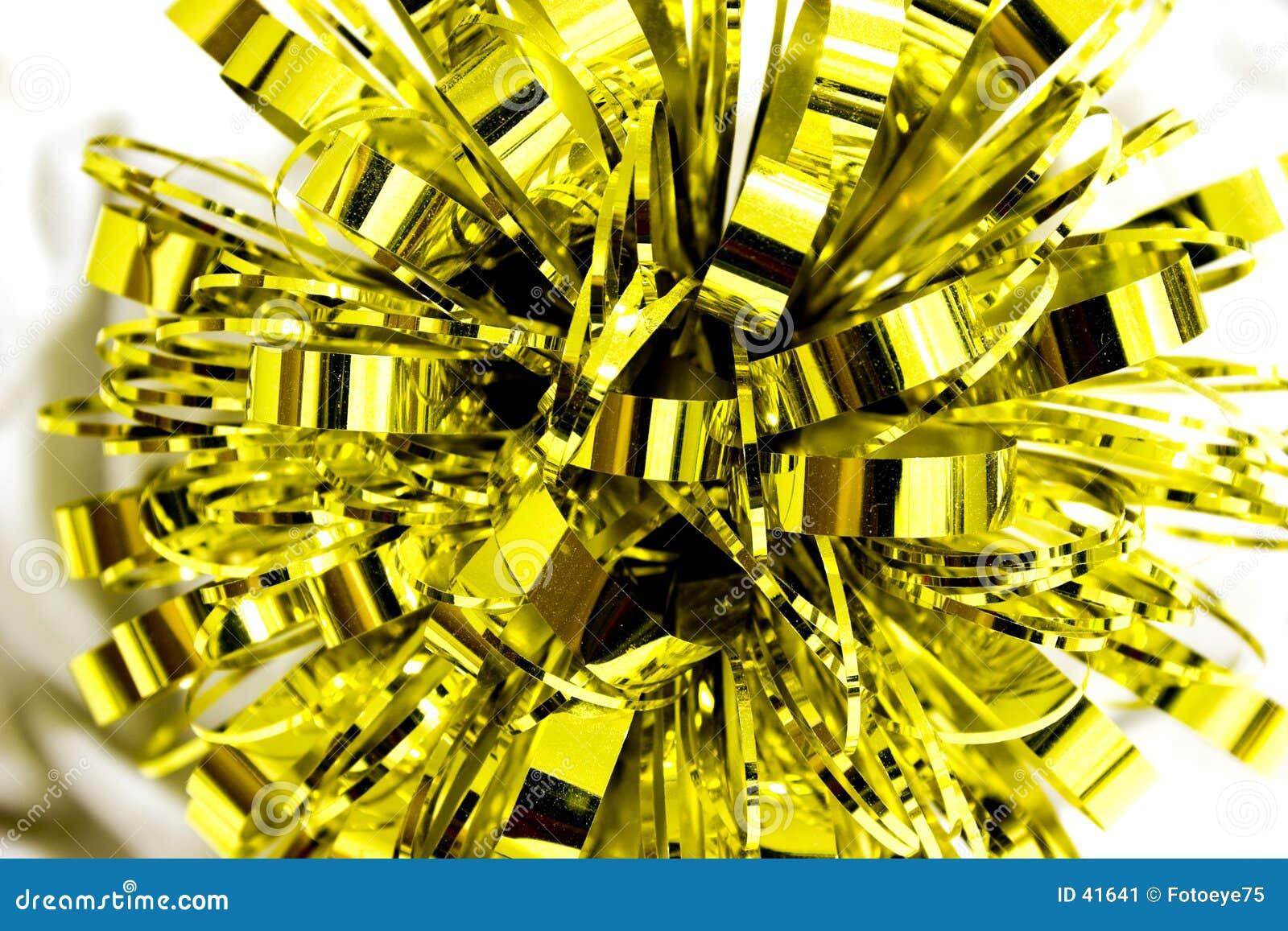 смычок золотистый