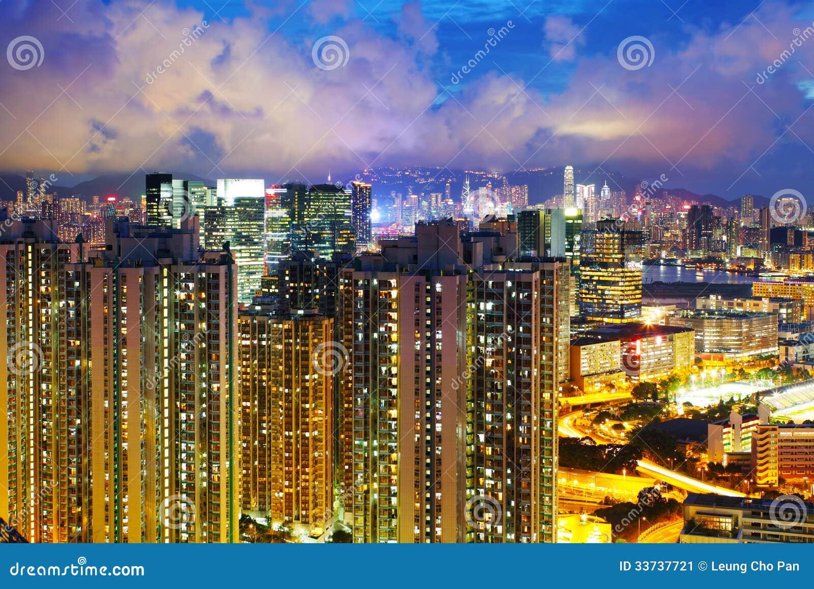 Снабжение жилищем в Гонконге
