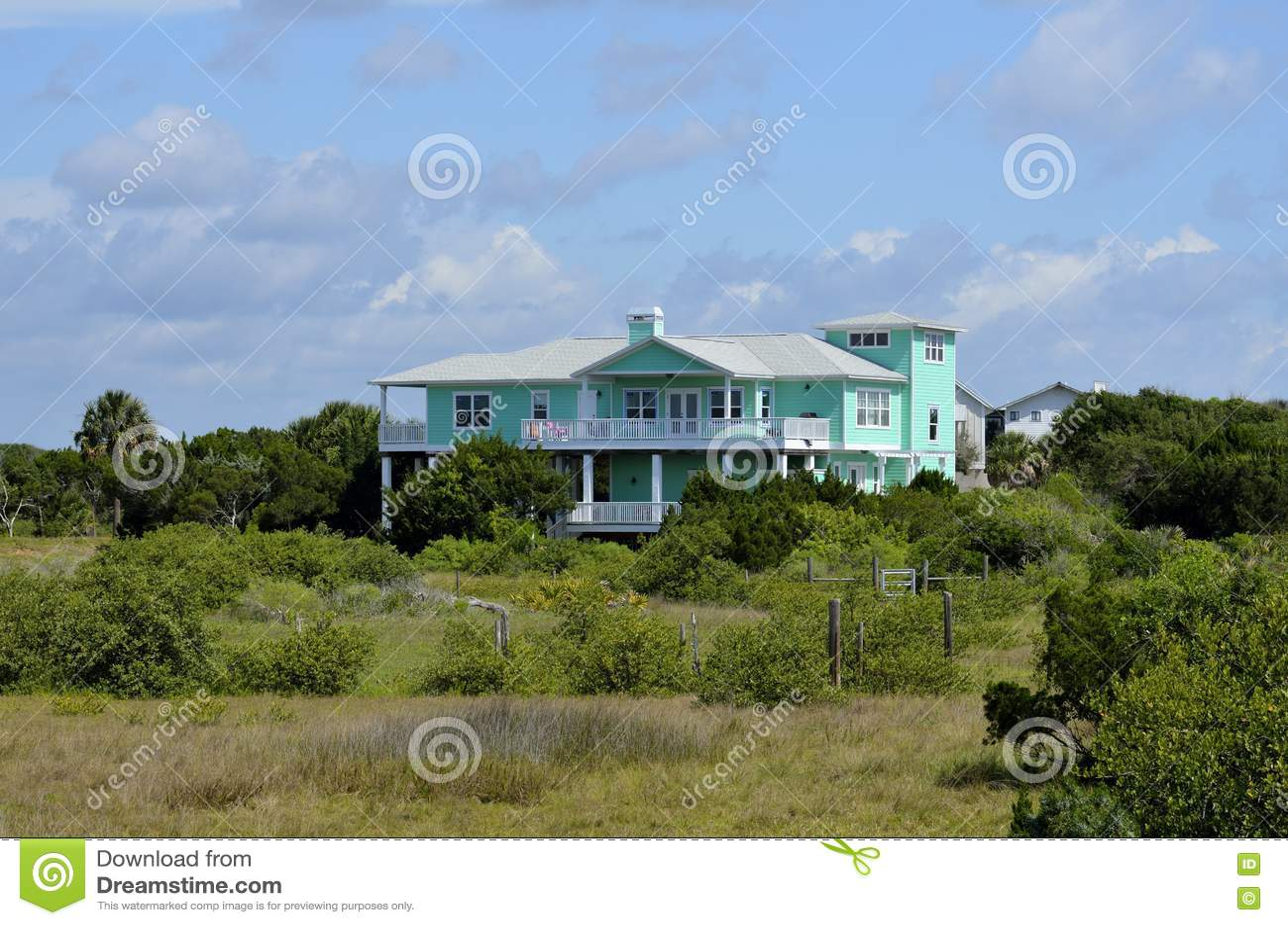 Снабжение жилищем на болоте, Флориде