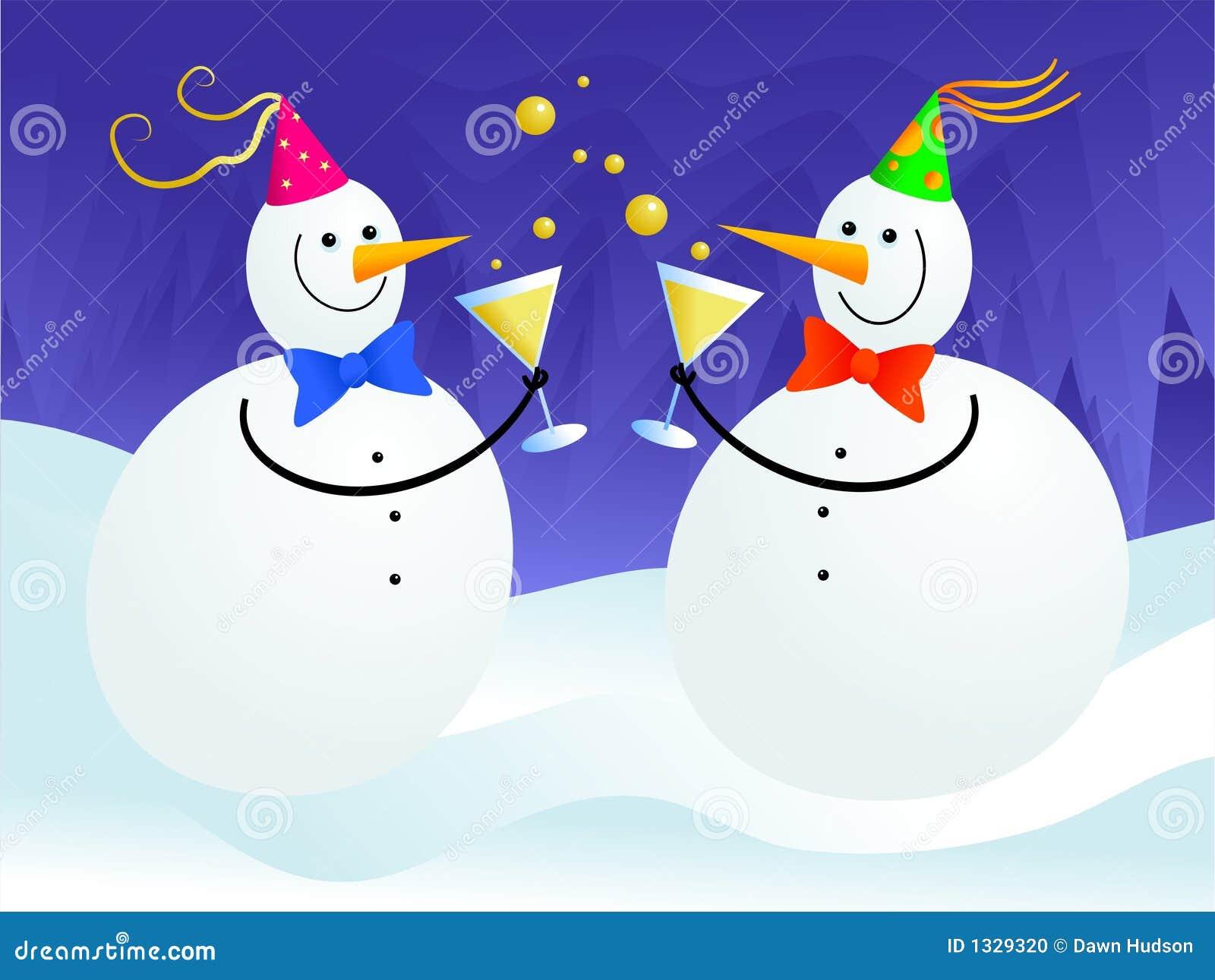 снеговик партии