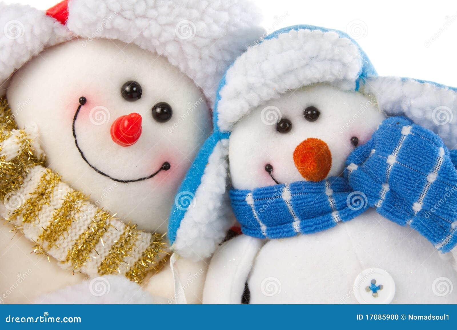 снеговик пар счастливый сь