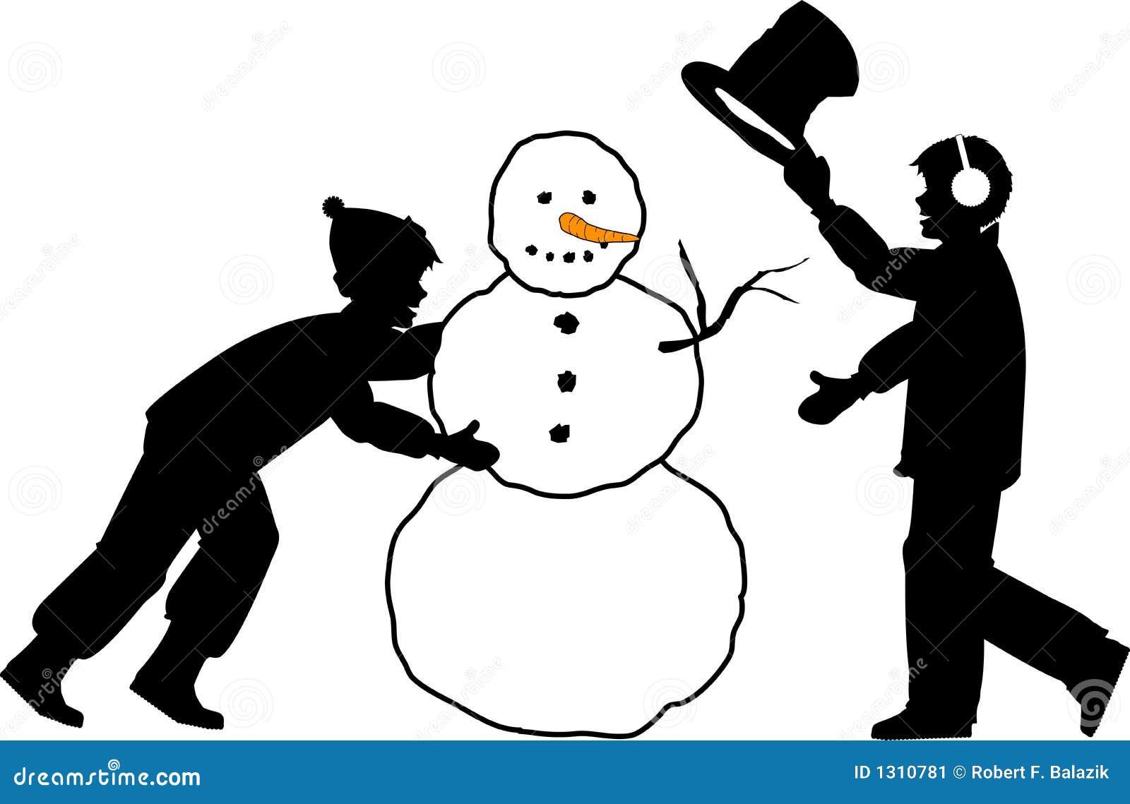 снеговик 01