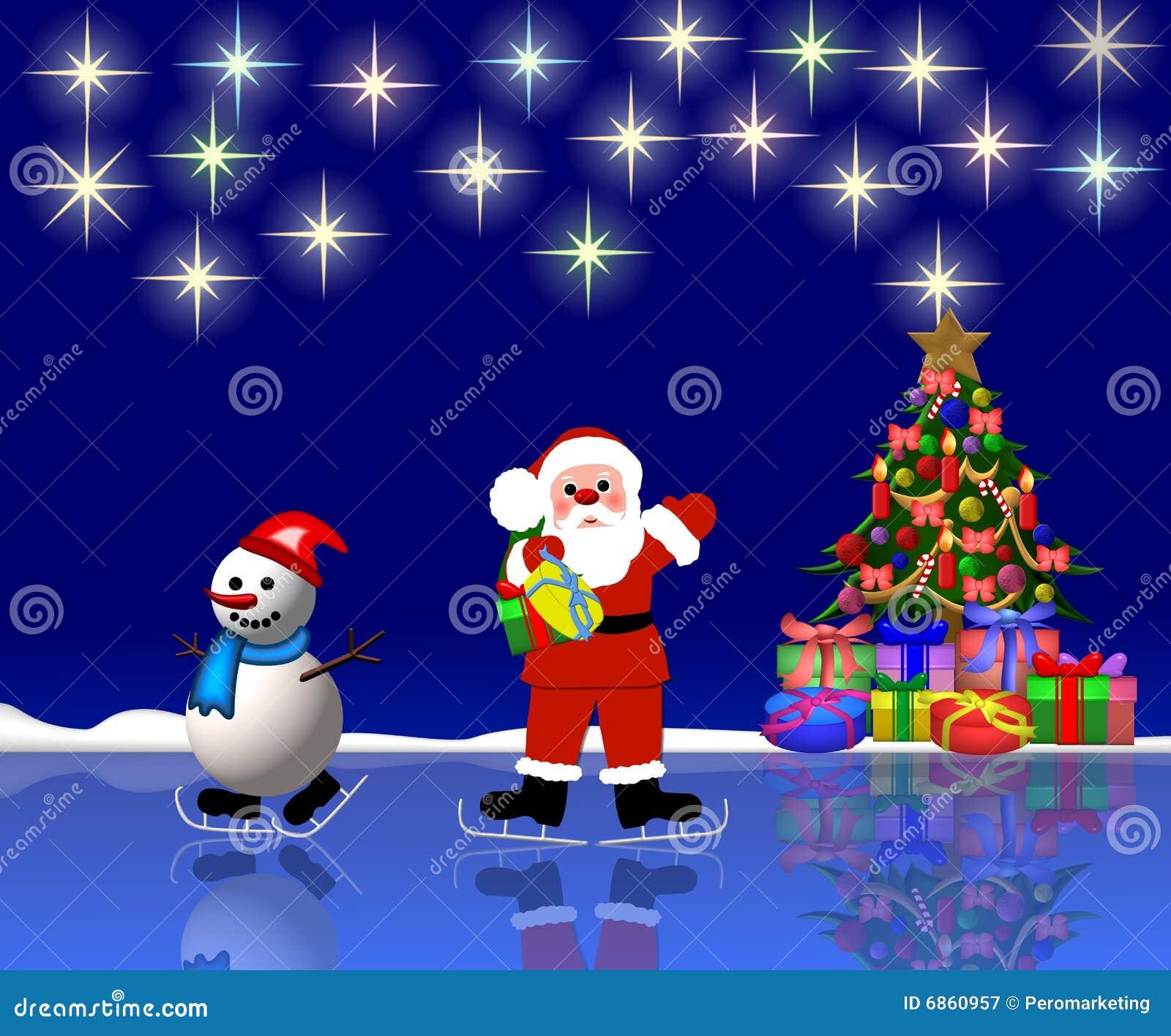 снеговик santa предпосылки