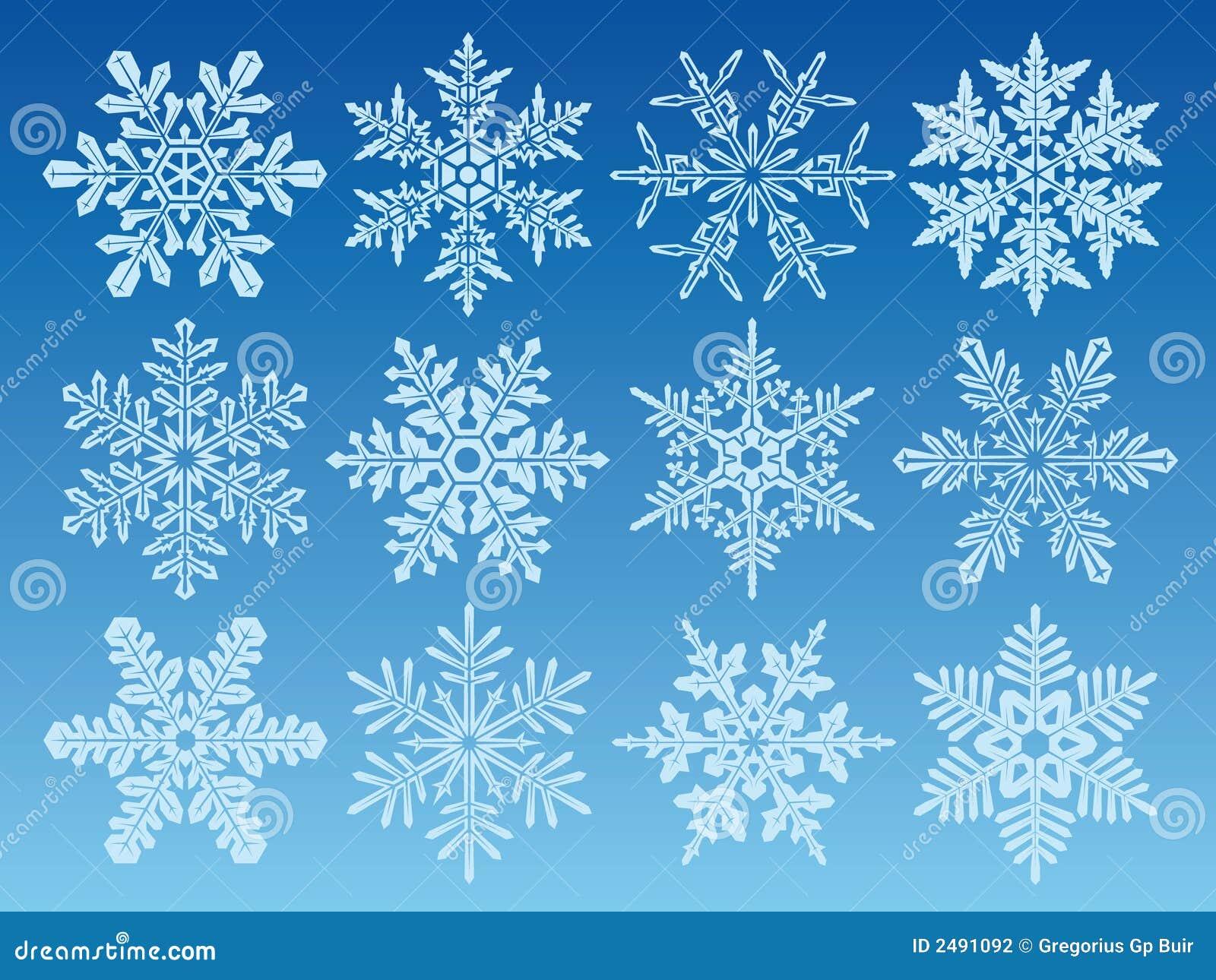 снежинки иконы установленные