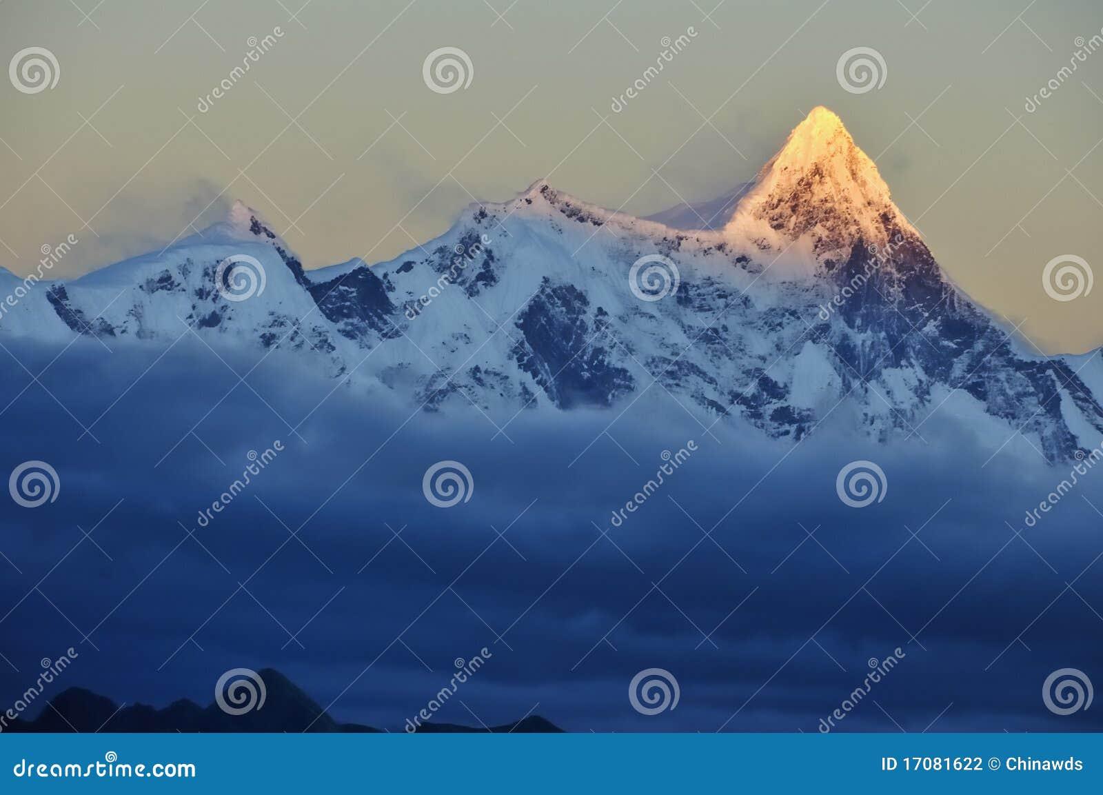 снежок горы
