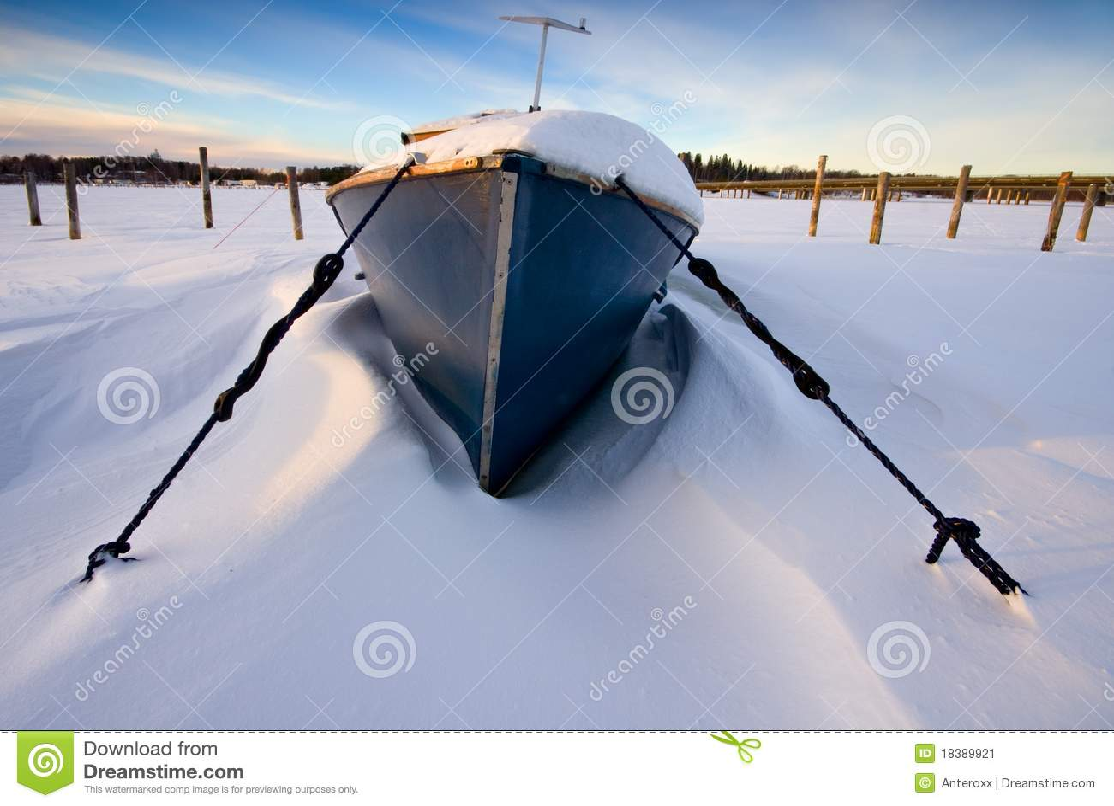 снежок шлюпки