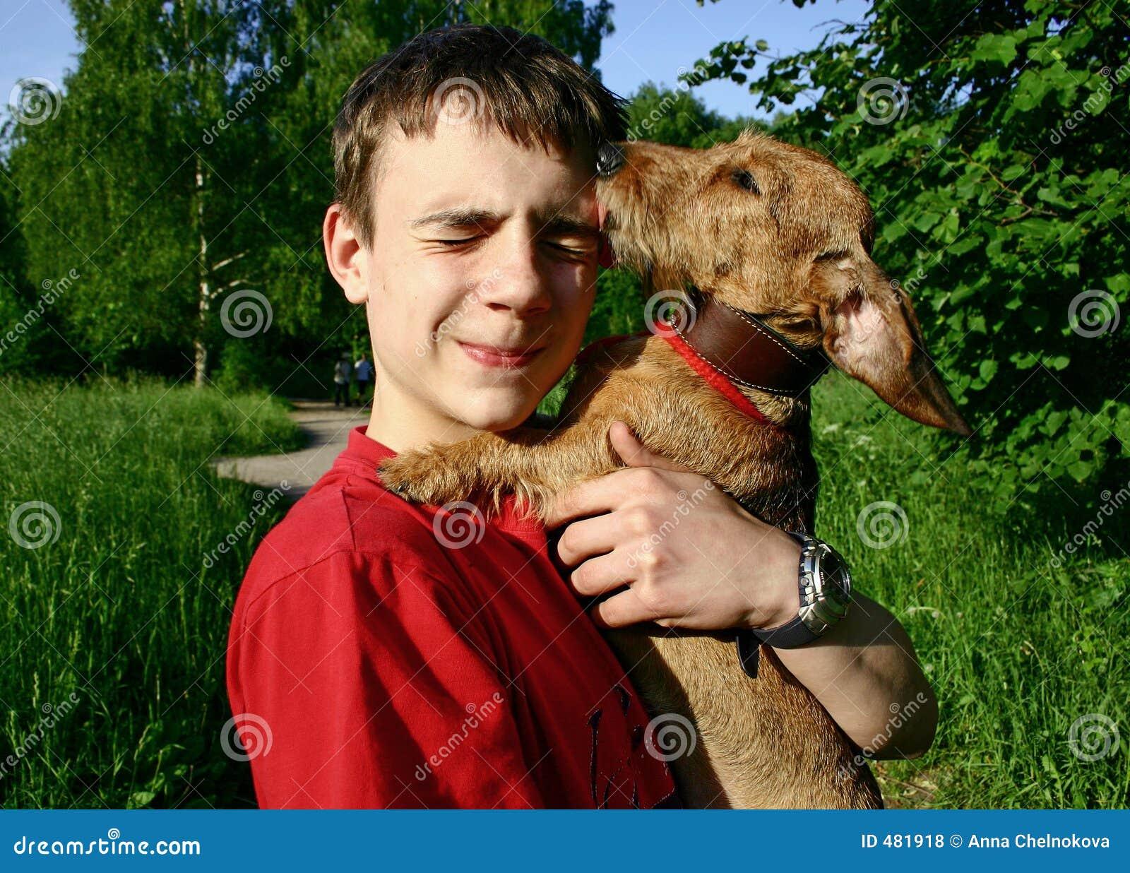 собака предназначенная для подростков